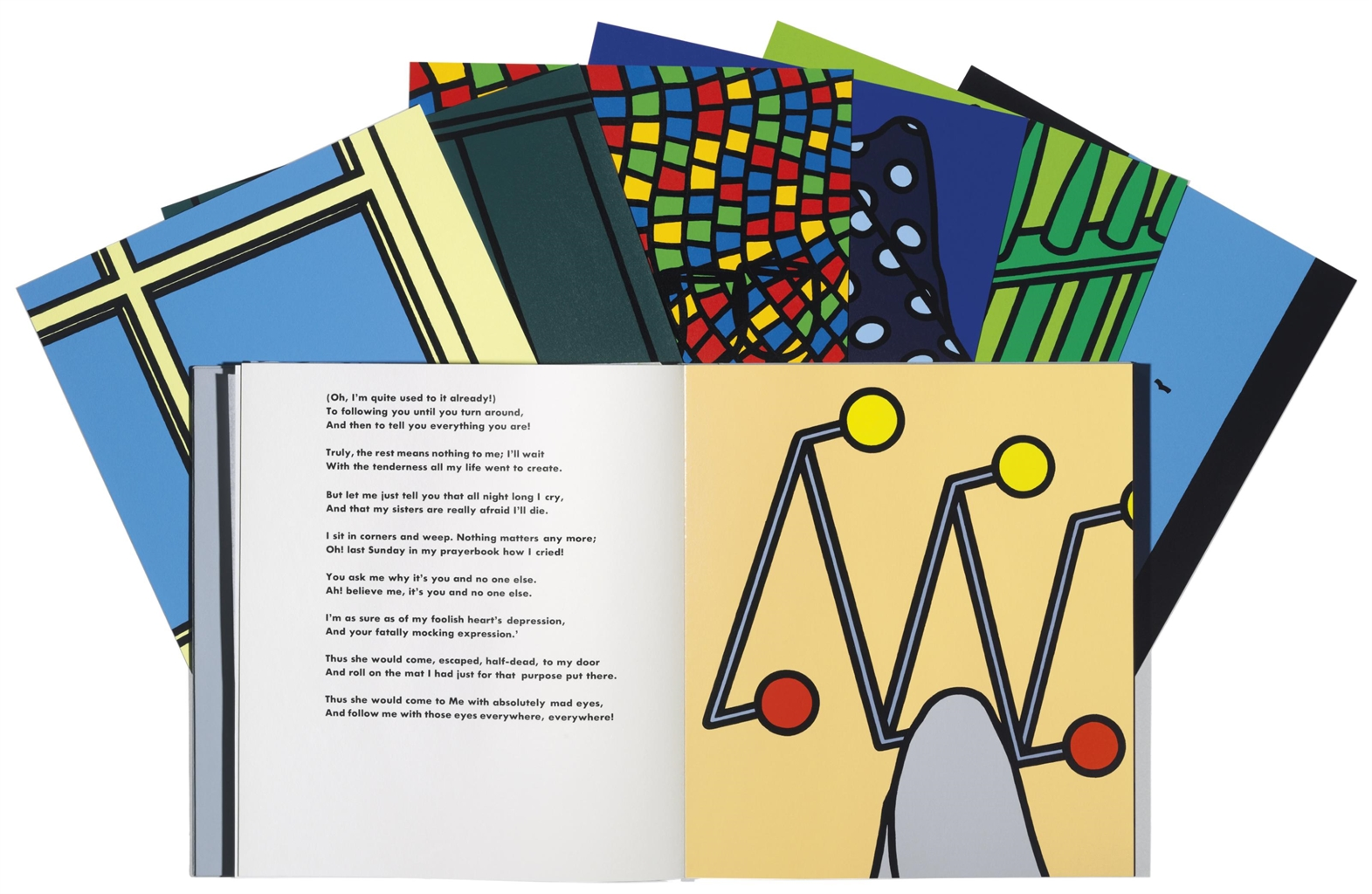 Patrick Caulfield-Some Poems of Jules Laforgue (Waddington 38)-1973