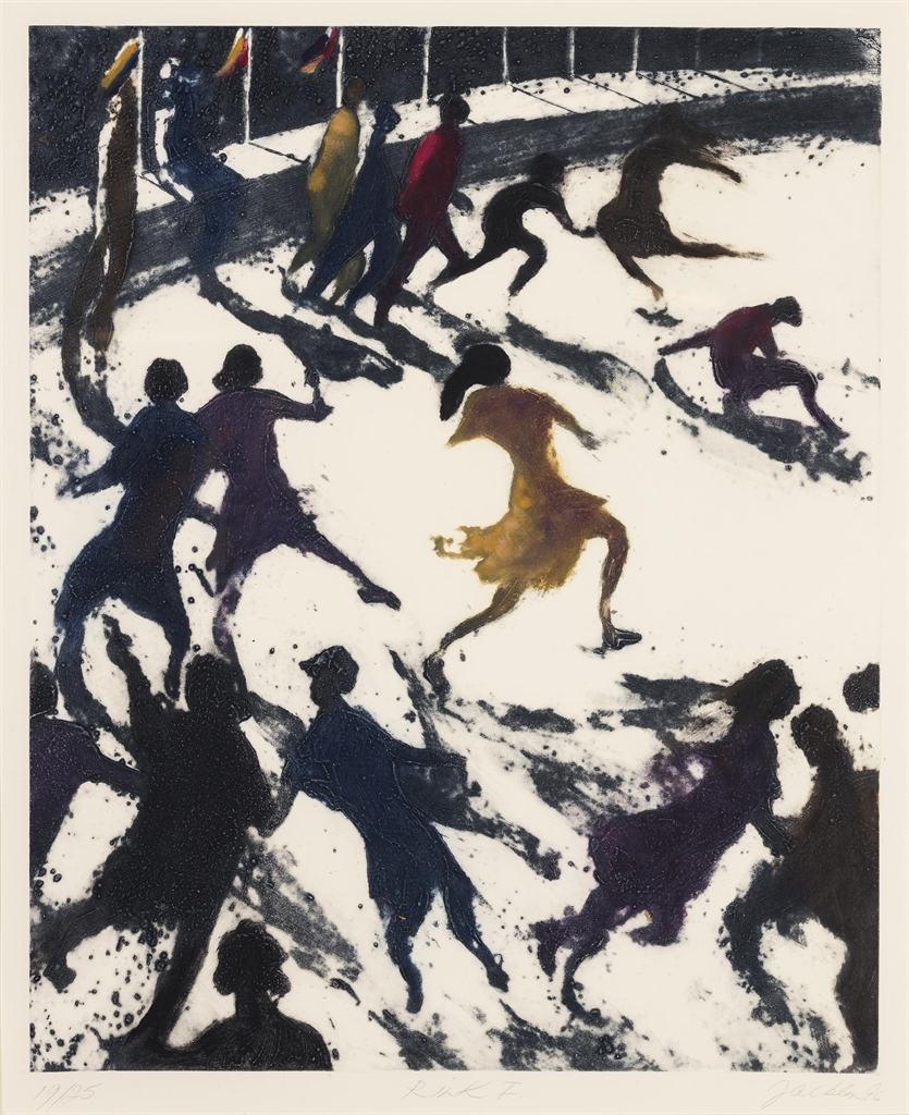 Bill Jacklin-(i) Rink I; (ii) The Bathers 2; (iii) Coney Island Incident, from: Coney Island Suite-1996
