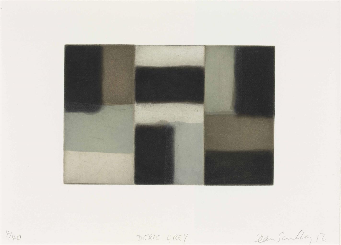Sean Scully-Doric Grey-2012