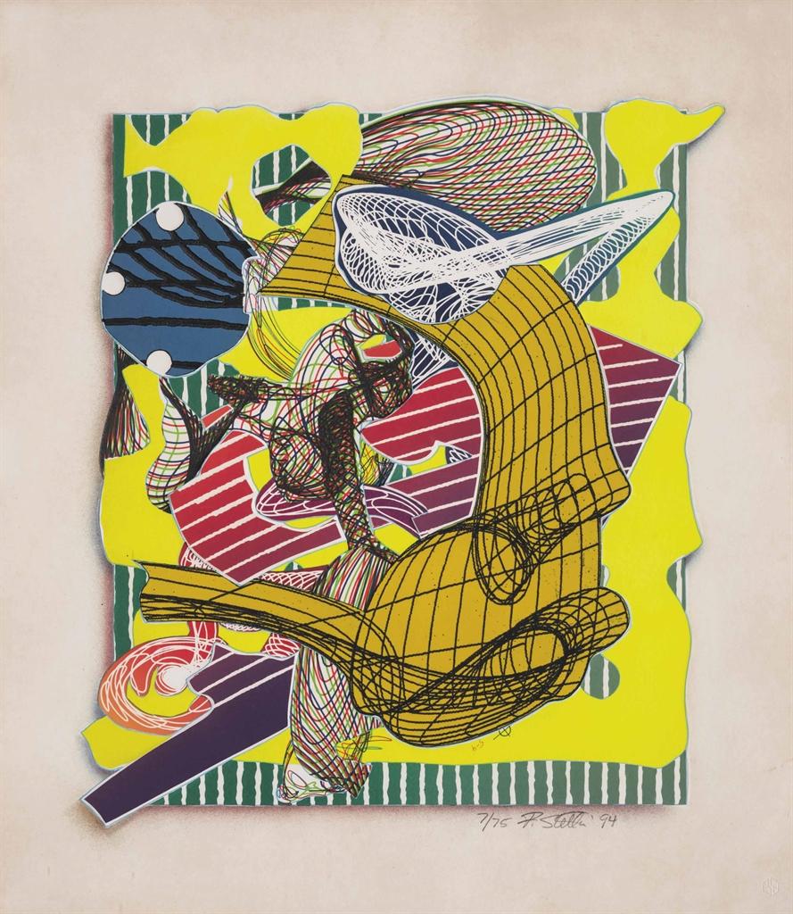 Frank Stella-Figlefia, from: Imaginary Places (Axsom 223)-1994