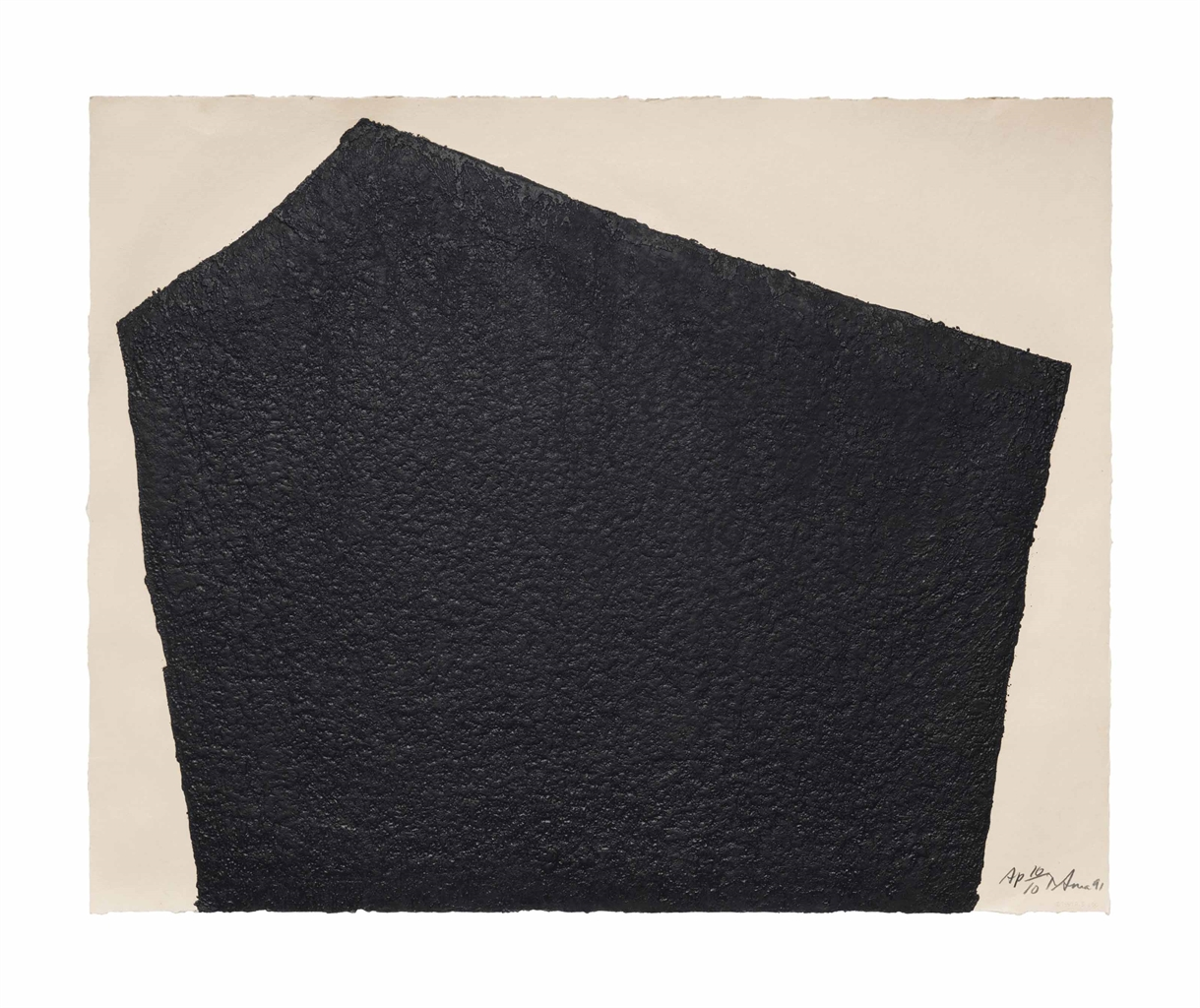 Richard Serra-Hreppholar VI (Berswordt-Wallrabe 79)-1991