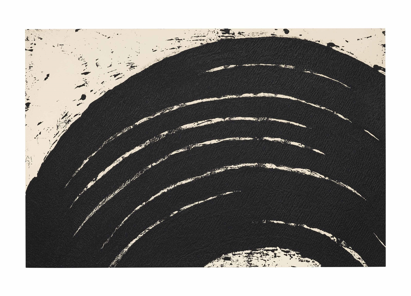 Richard Serra-Paths and Edges #3, from: Paths and Edges (Gemini RS07-3415)-2007