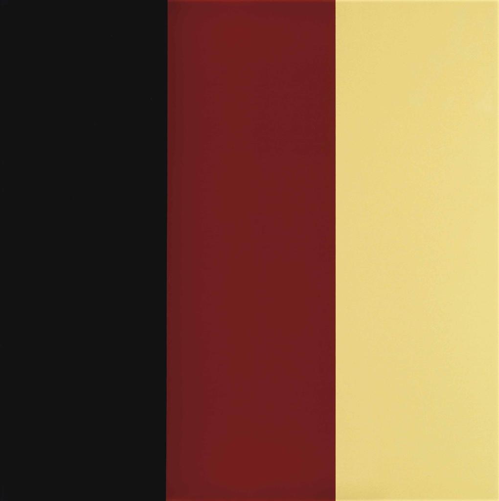 Gerhard Richter-Schwarz - Rot - Gold IV (Cantz 166)-2015