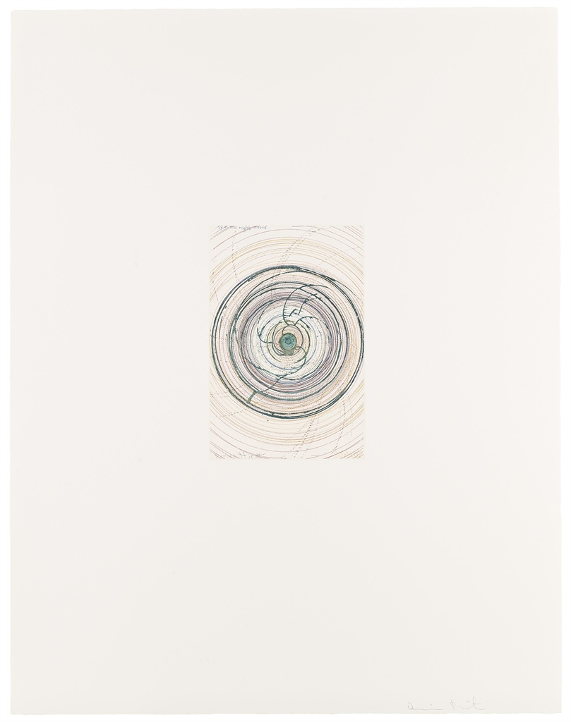 Damien Hirst-(i) Spin me right round, from: In a Spin, The Action of the World on Things, Volume I (see Paragon Press Vol. III, p. 87 and 84); (ii) Tie a Yellow Ribbon round the old Oak Tree, from the same series-2002