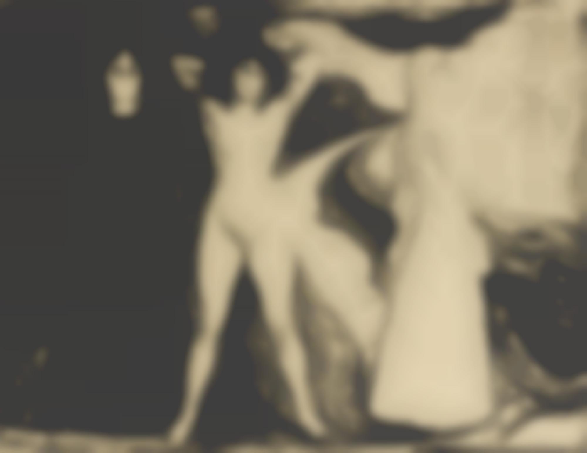 Edvard Munch-Woman (W. 147; S. 122)-1899