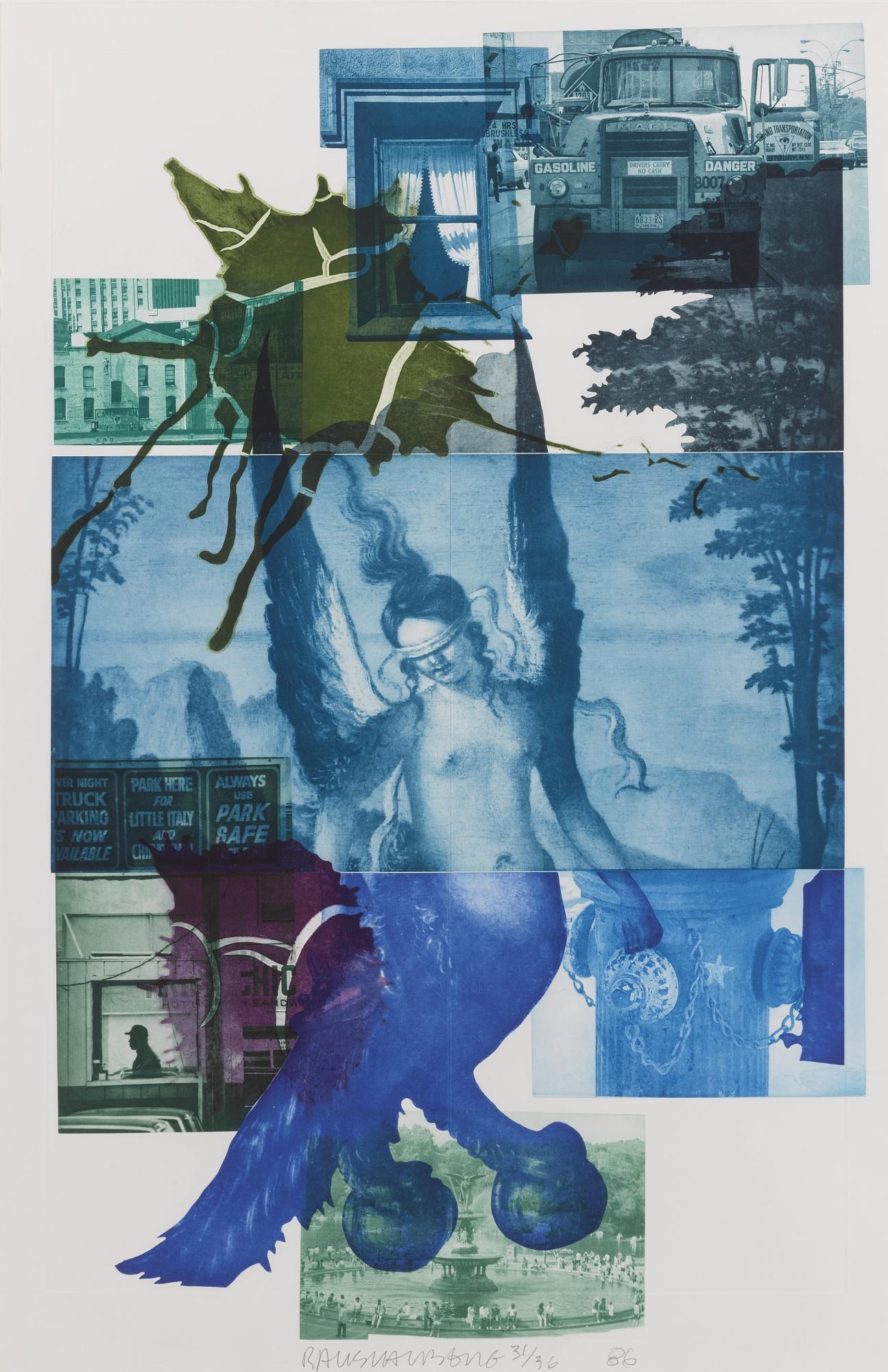 Robert Rauschenberg-Bellini #1-1986
