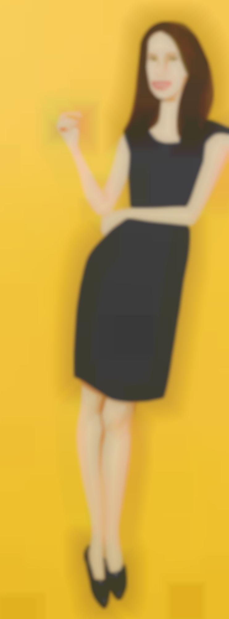Alex Katz-Black Dress-2015