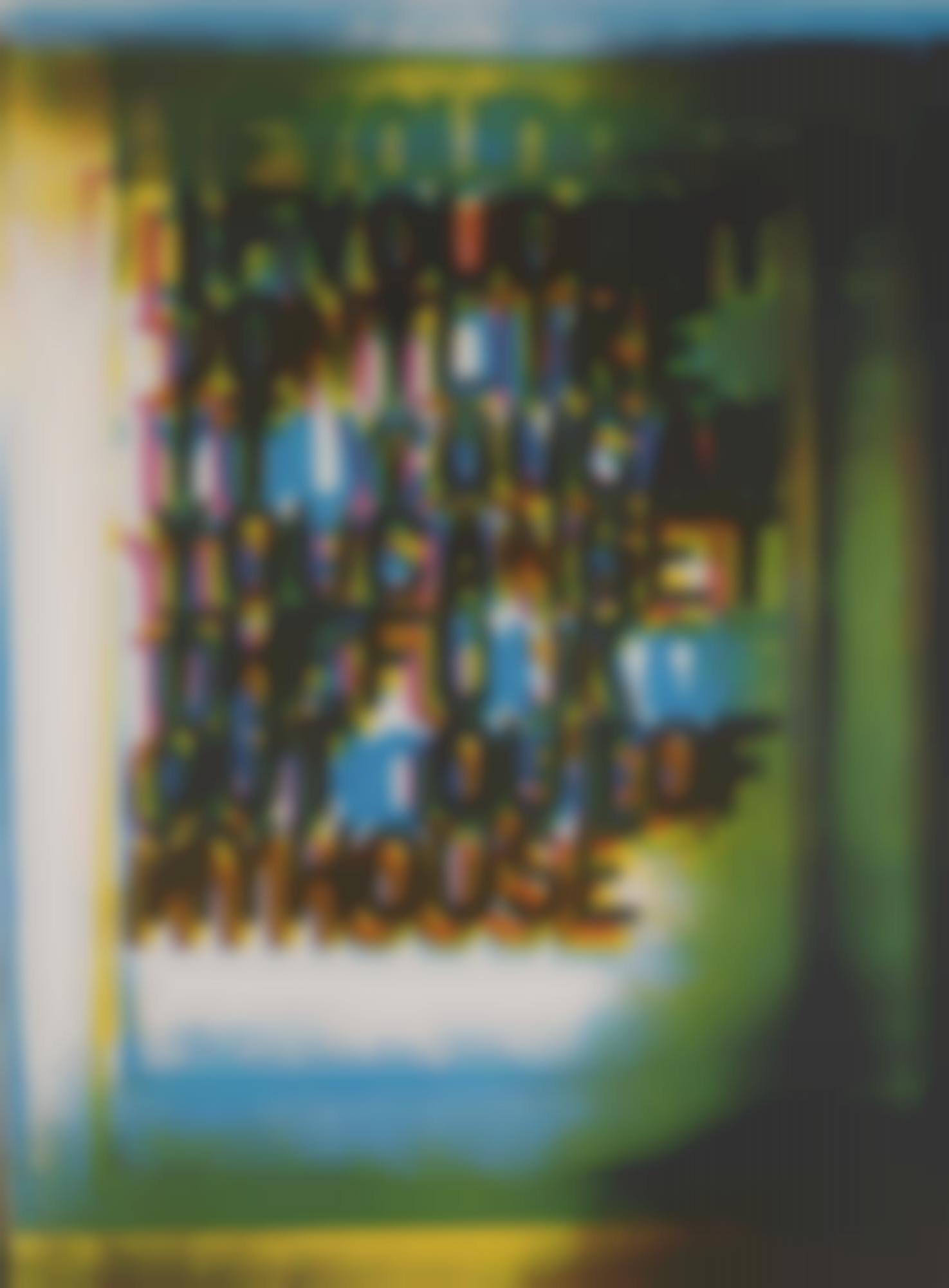 Christopher Wool-My House IIi-2000