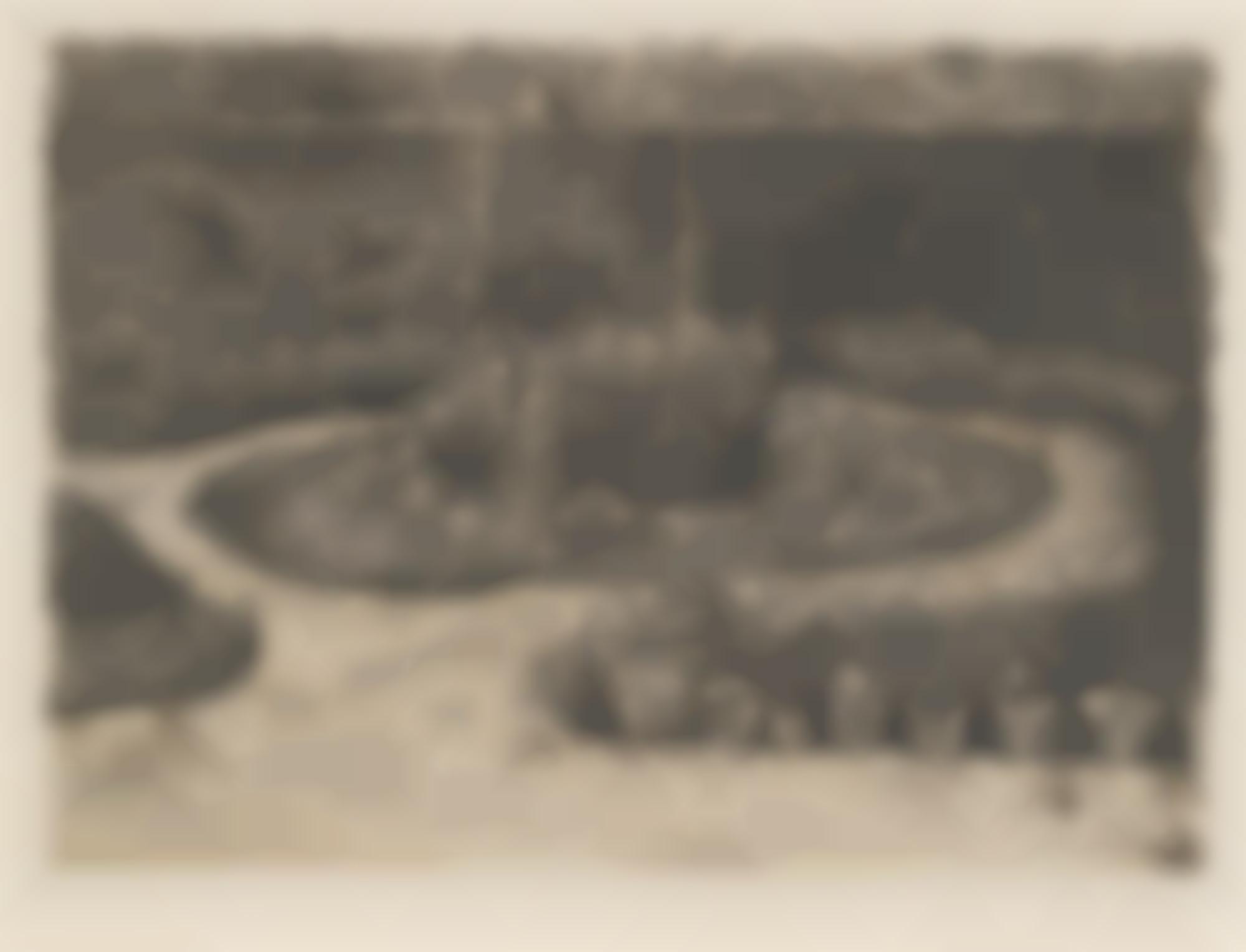 Giorgio Morandi-Il Giardino Di Via Fondazza (Vitali 25)-1924