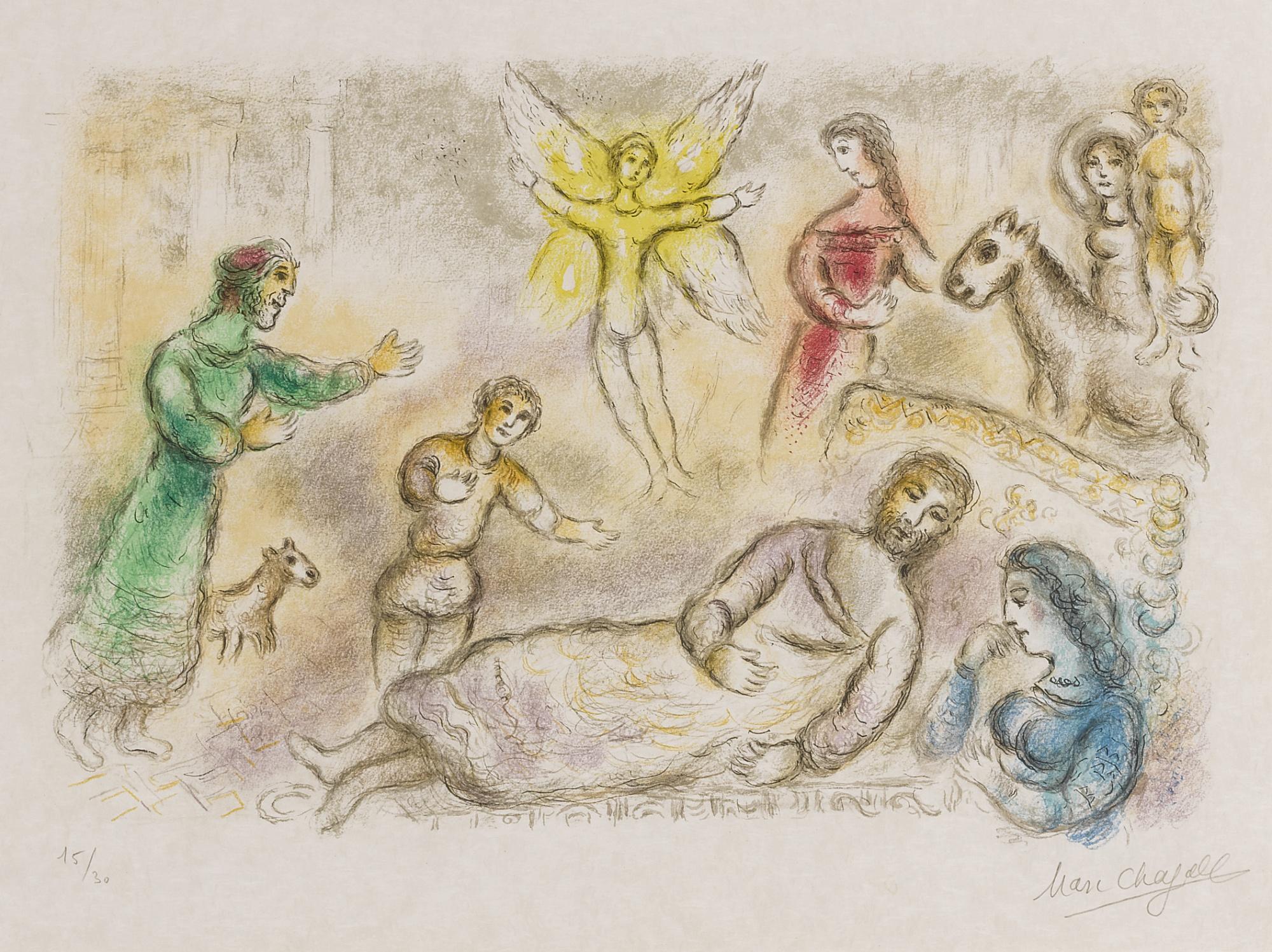 Marc Chagall-The Odyssea II (M. 830; See Cramer Bk.96)-1975