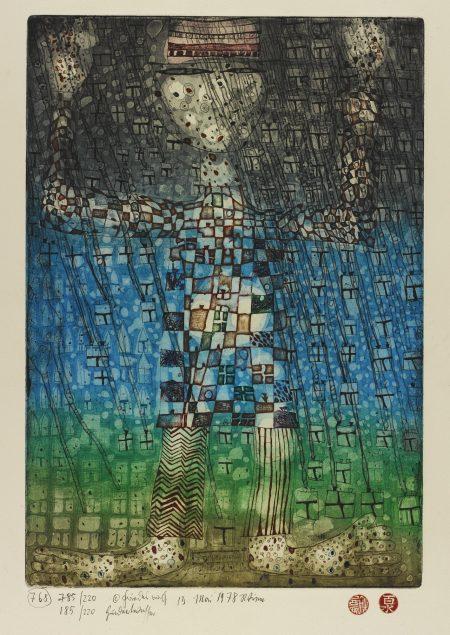Friedensreich Hundertwasser-The Occidental (Koschatzky/Kertesz 71)-1978