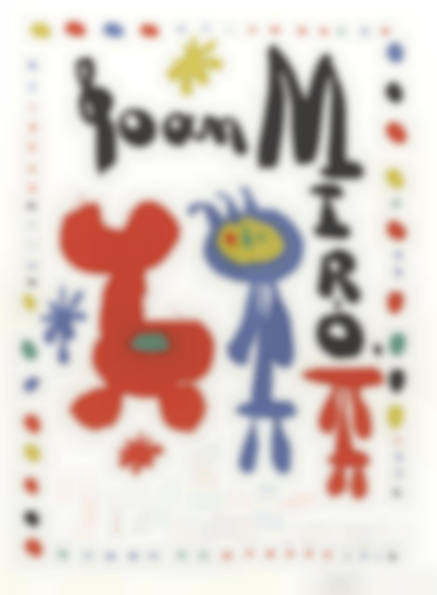 Joan Miro-Poster For Exhibition Of1948(M. 67)-1948