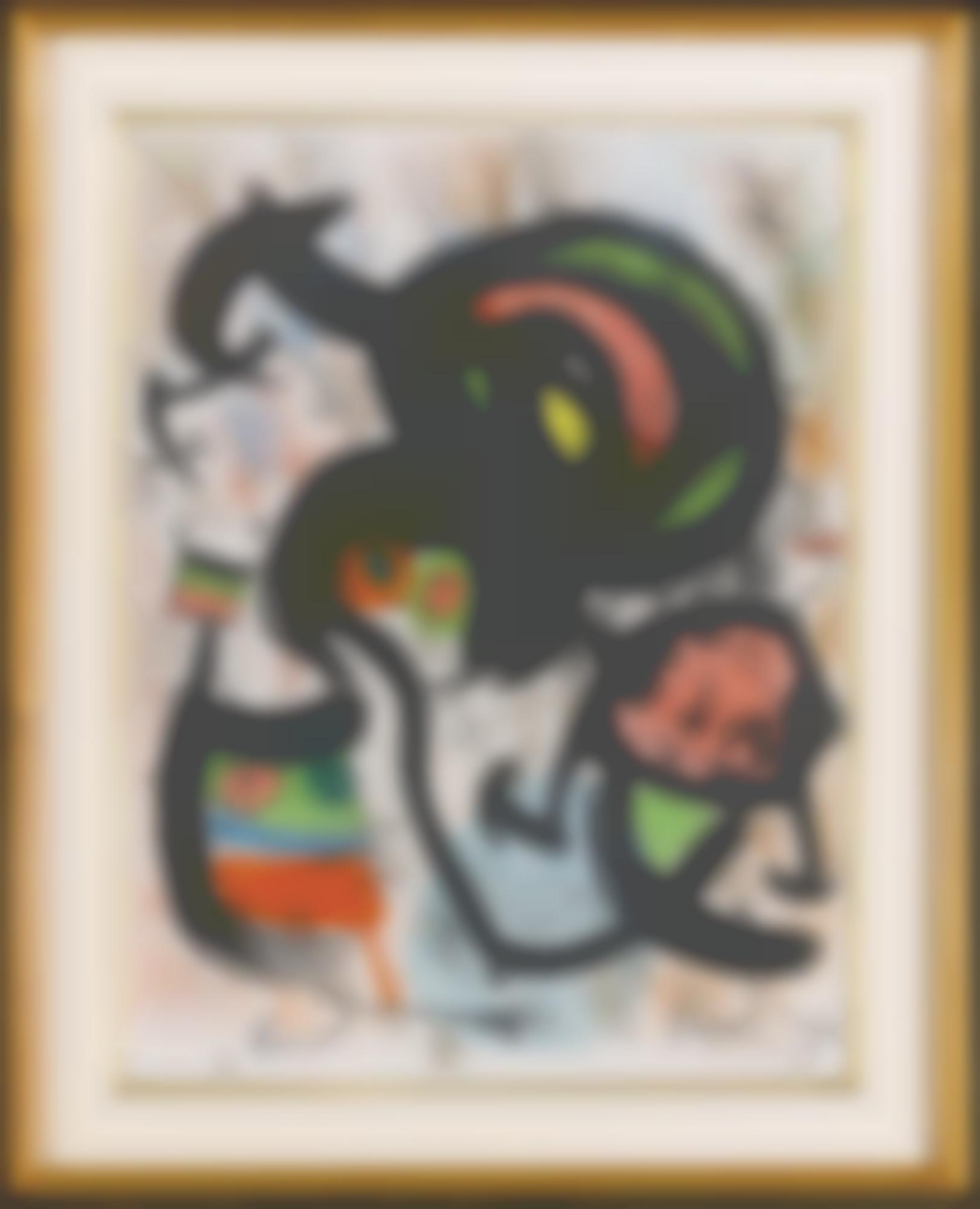 Joan Miro-The Seers (M. 661-666)-1960