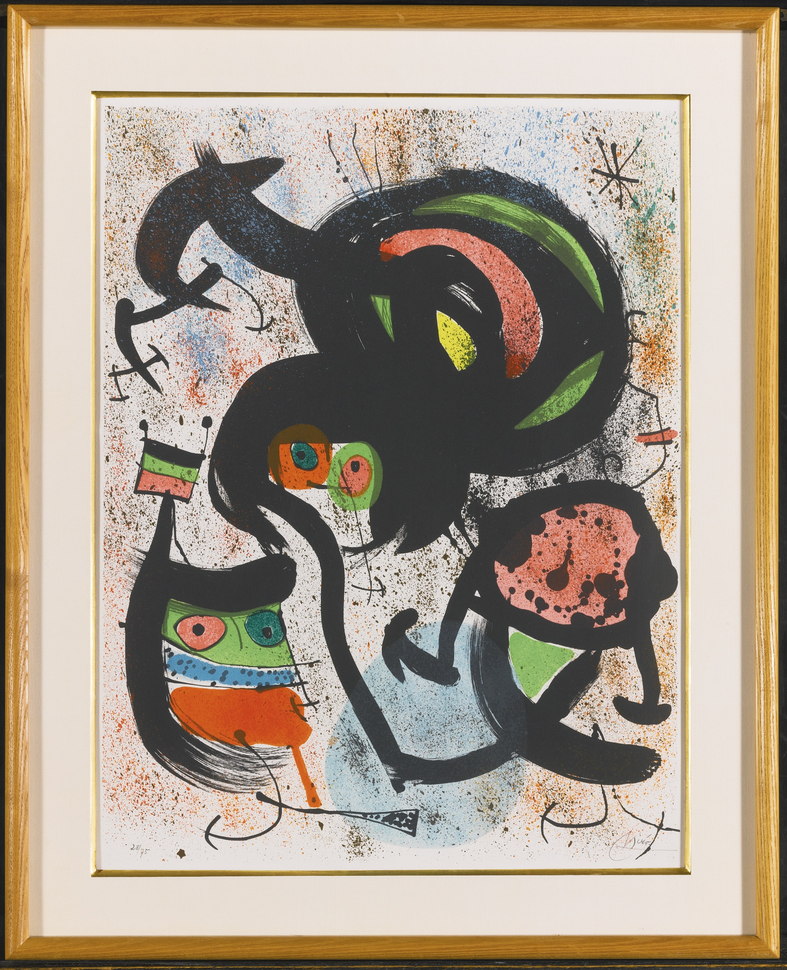 Joan Miro-The Seers (M. 661-666)-1960