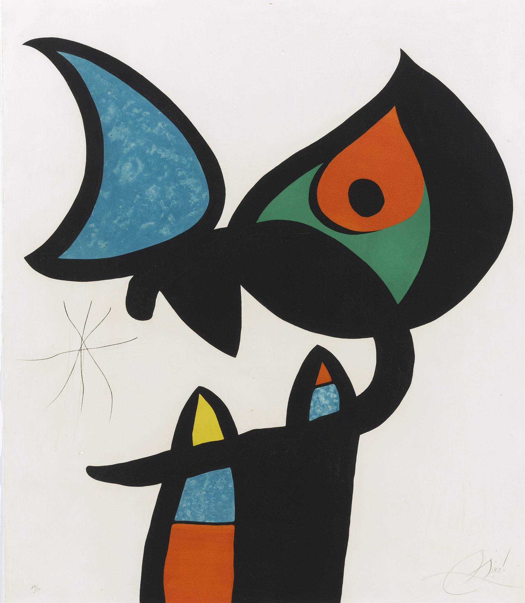 Joan Miro-Espiru - Miro (D. 874)-1975