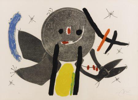Joan Miro-The Crooked Phynancial Phang Iv (M. 691)-1971