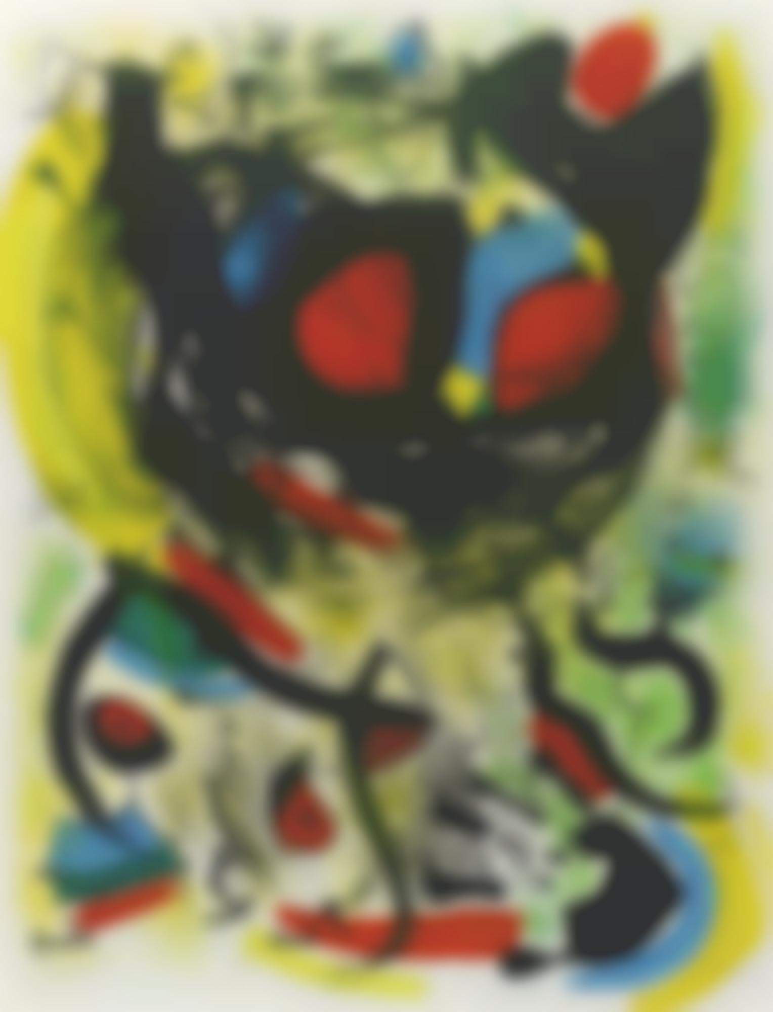 Joan Miro-The Seers: I(M. 661)-1970