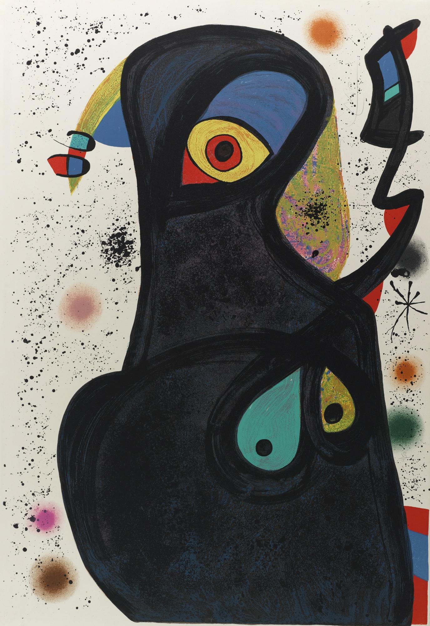 Joan Miro-Vladimir (M. 1083)-1975