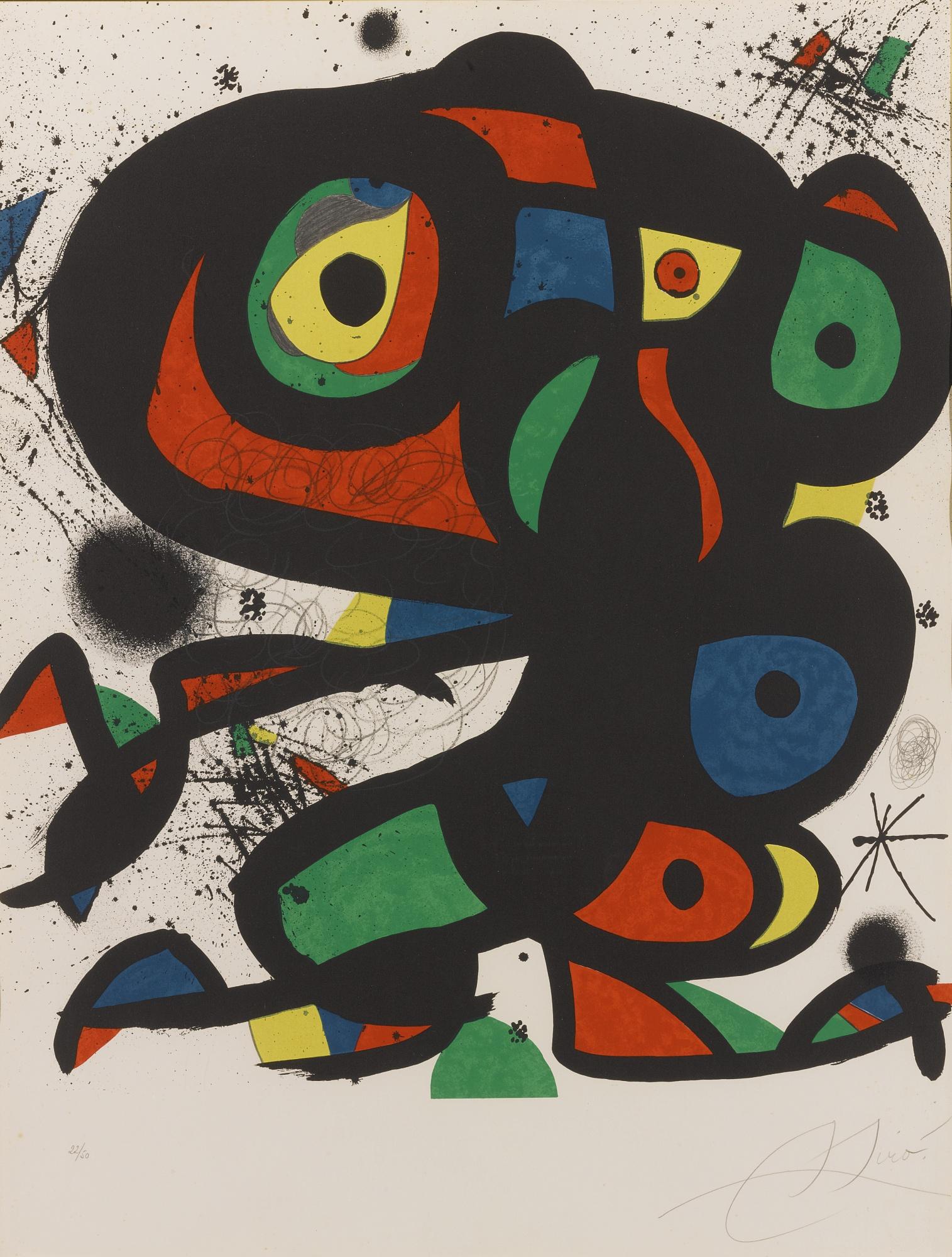 Joan Miro-Colpir Sense Nafrar 2-1981