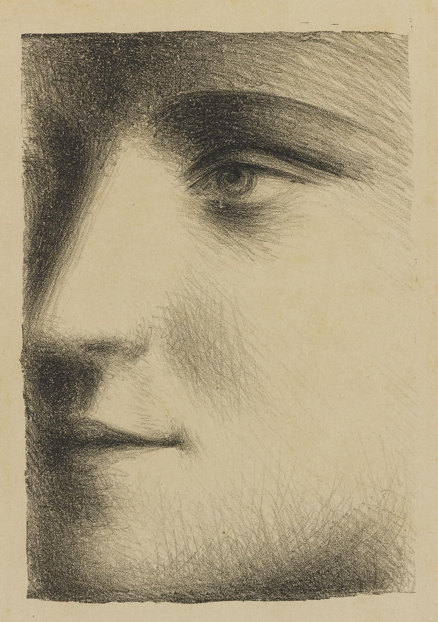 Pablo Picasso-Visage (B. 95; Ba. 243 M. Xxiii; P.P. Xxiii)-1928