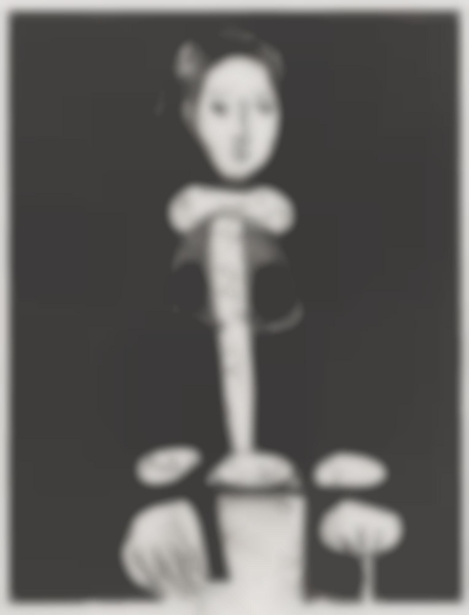 Pablo Picasso-Le Femme Au Fauteuil No. 3 D'Apres Le Jaune (M. 136)-1949