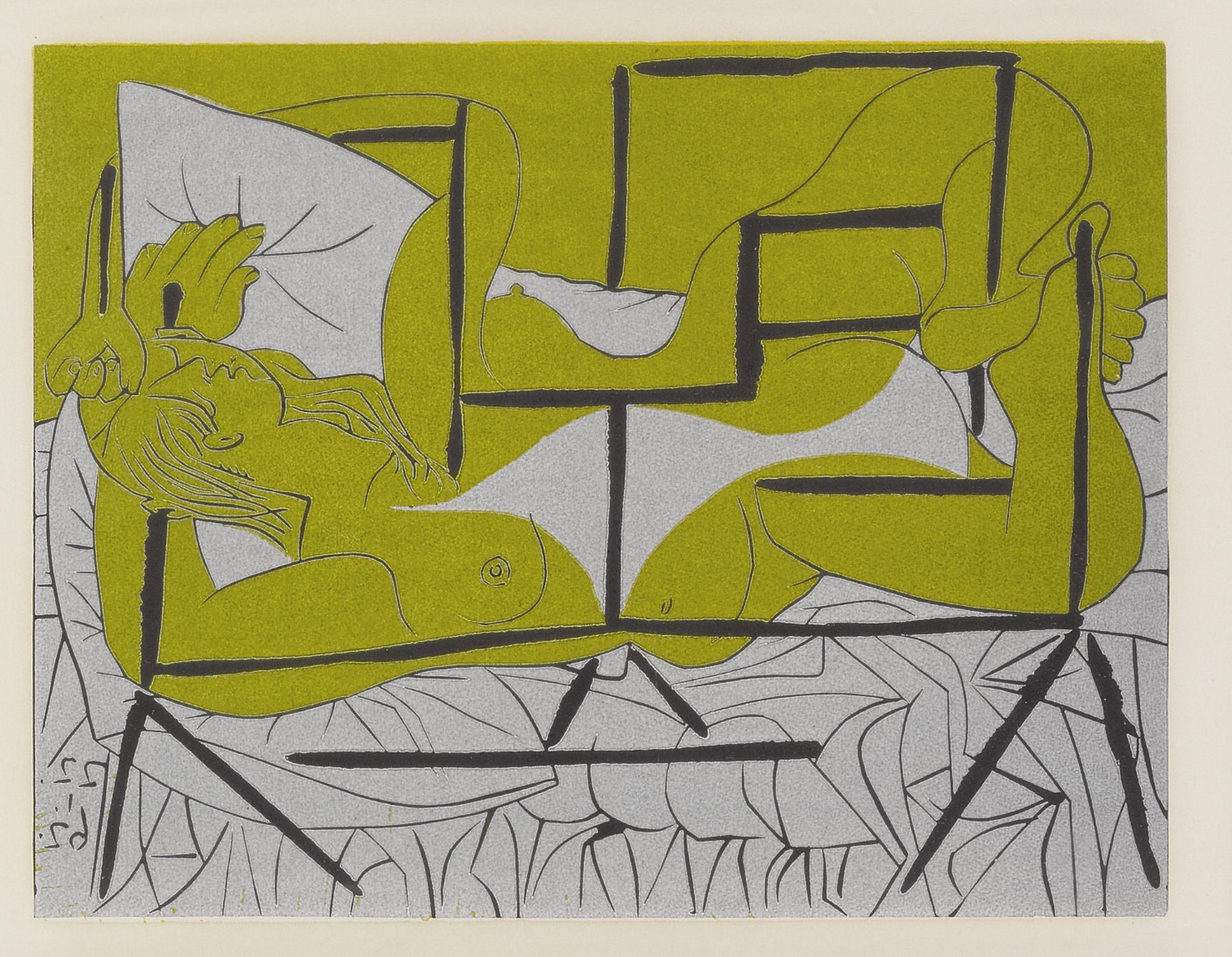Pablo Picasso-Danae (B. 1084; Ba. 1286)-1962