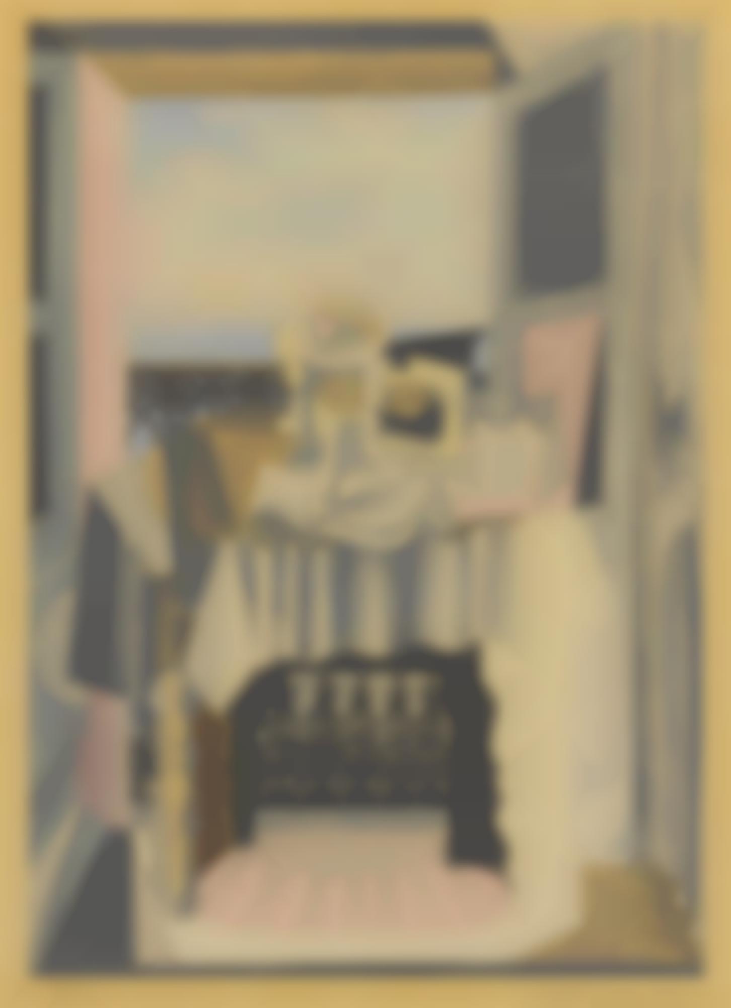 Pablo Picasso-After Pablo Picasso - Nature Morte Devant Une Fenetre A Saint-Raphael-1925