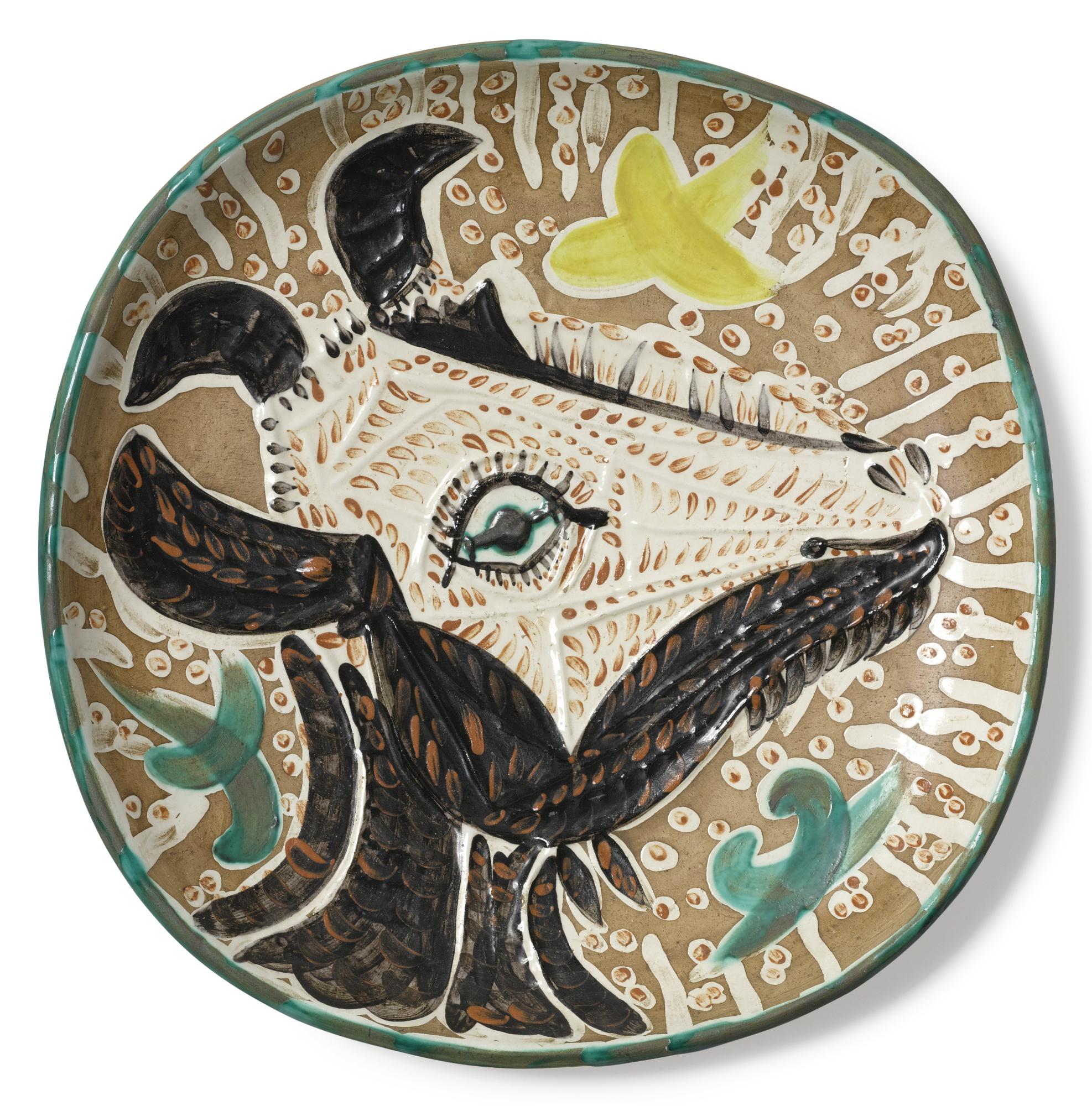 Pablo Picasso-Tete De Chevre De Profil (A. R. 153)-1952