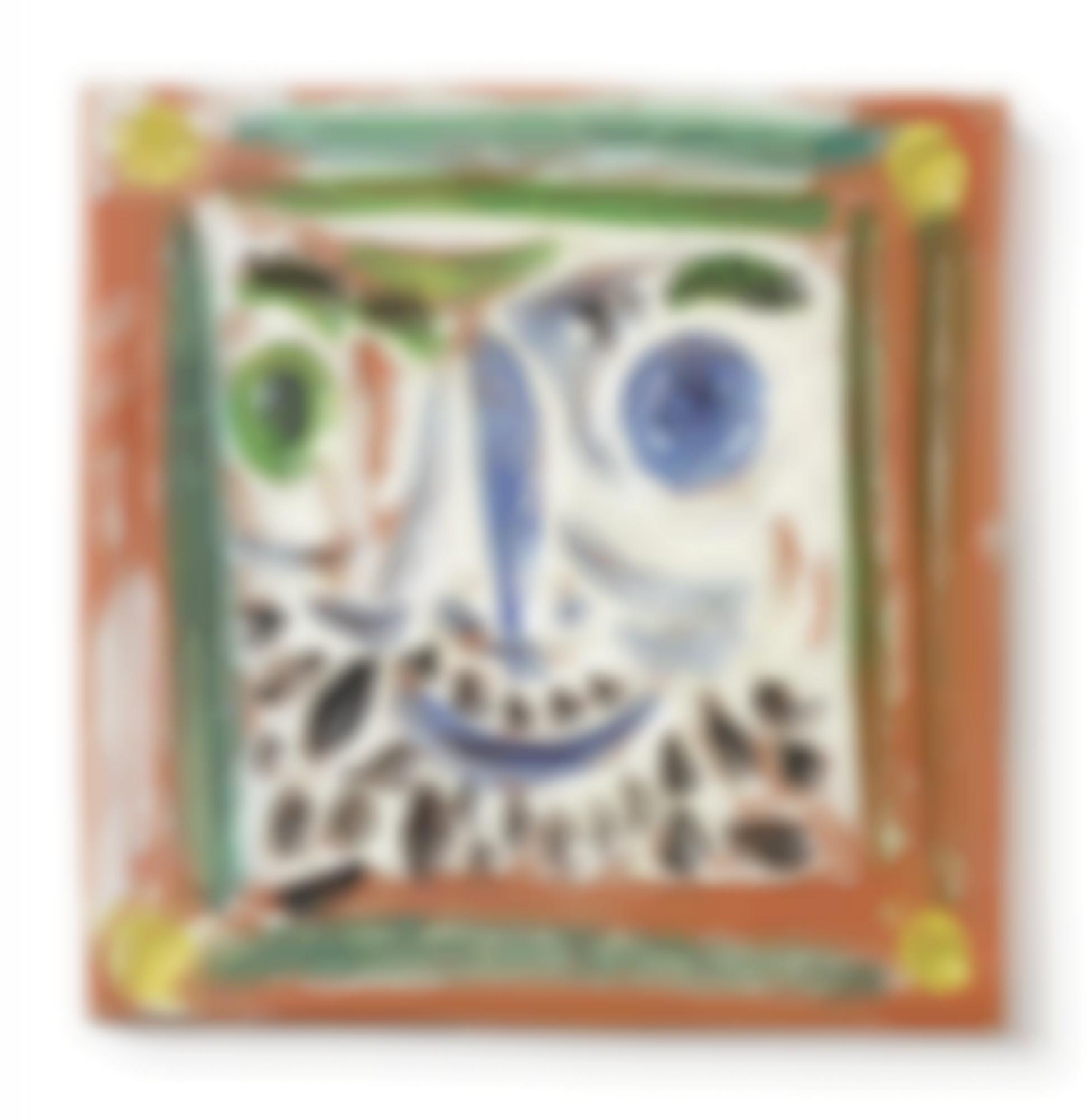 Pablo Picasso-Petit Visage Barbu(A. R. 559)-1969