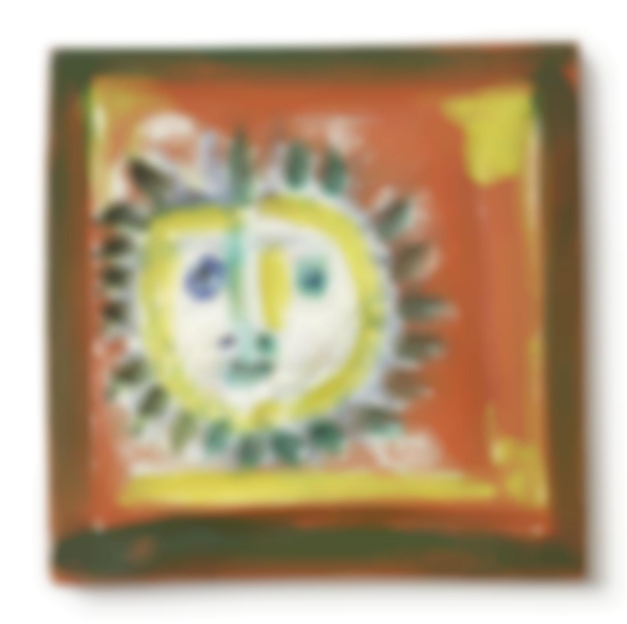Pablo Picasso-Petit Visage Solaire(A. R. 552)-1968