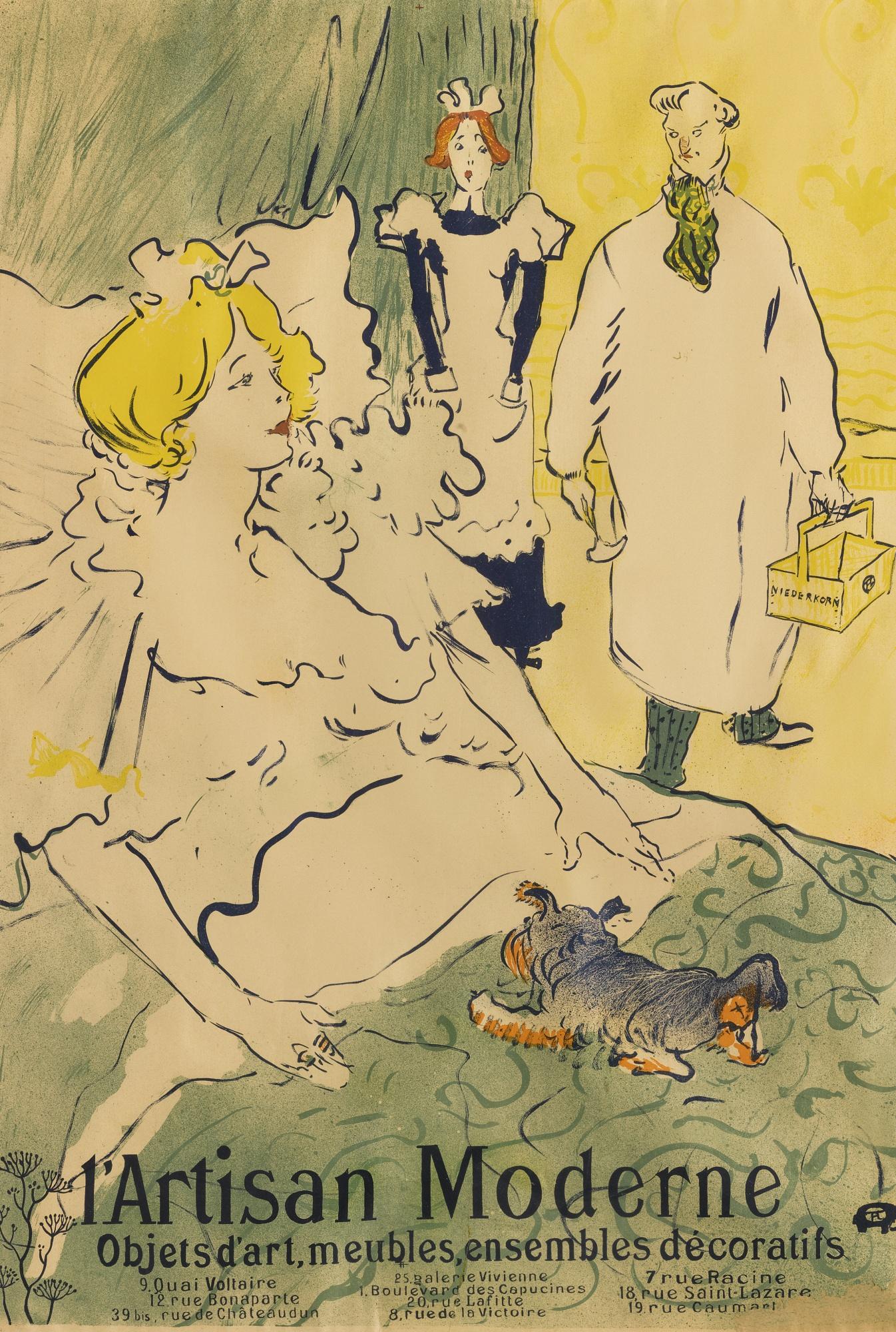 Henri de Toulouse-Lautrec-L'Artisan Moderne (D. 350; Adr. 59;W. P24)-1894