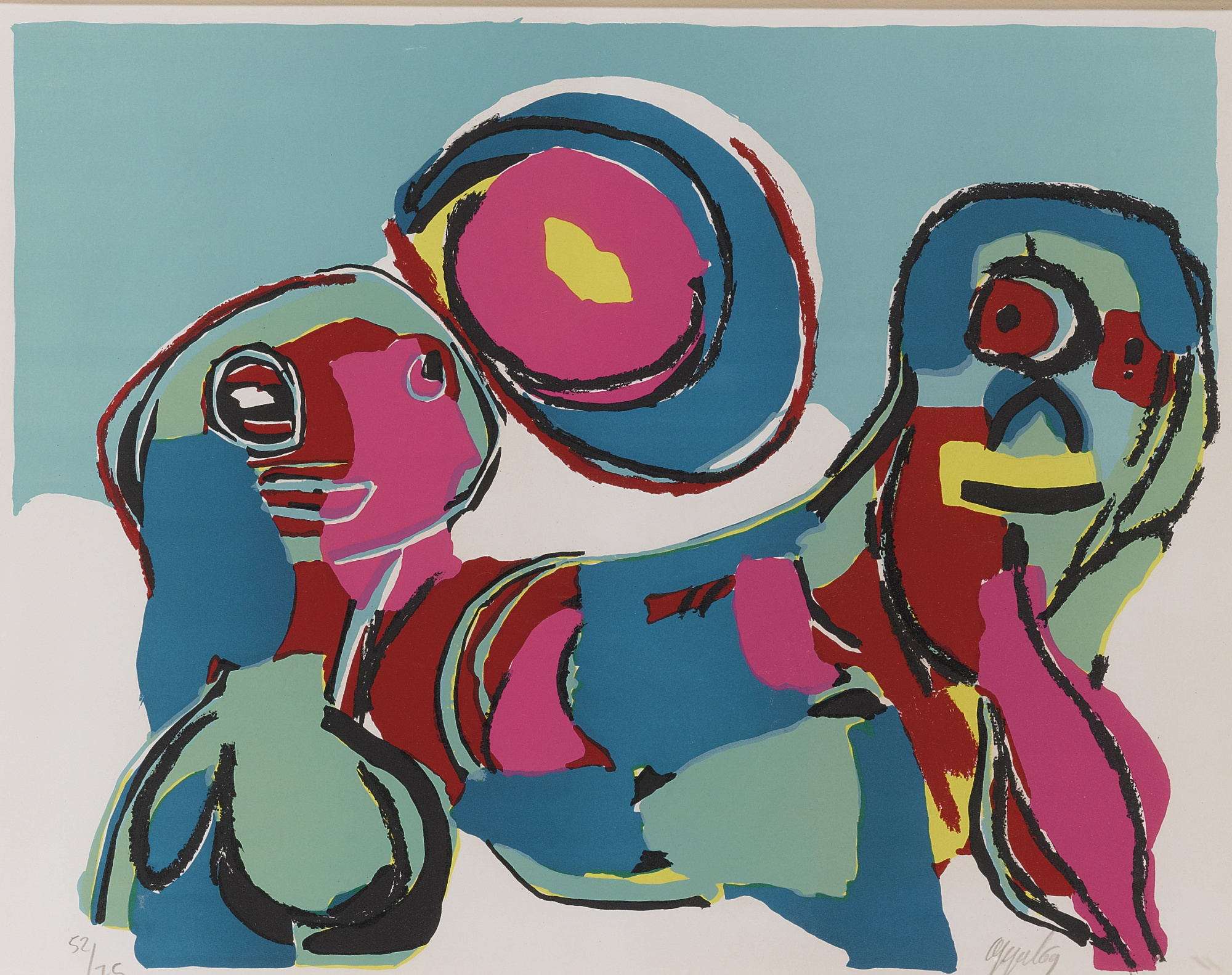 Karel Appel-Compositions-1969