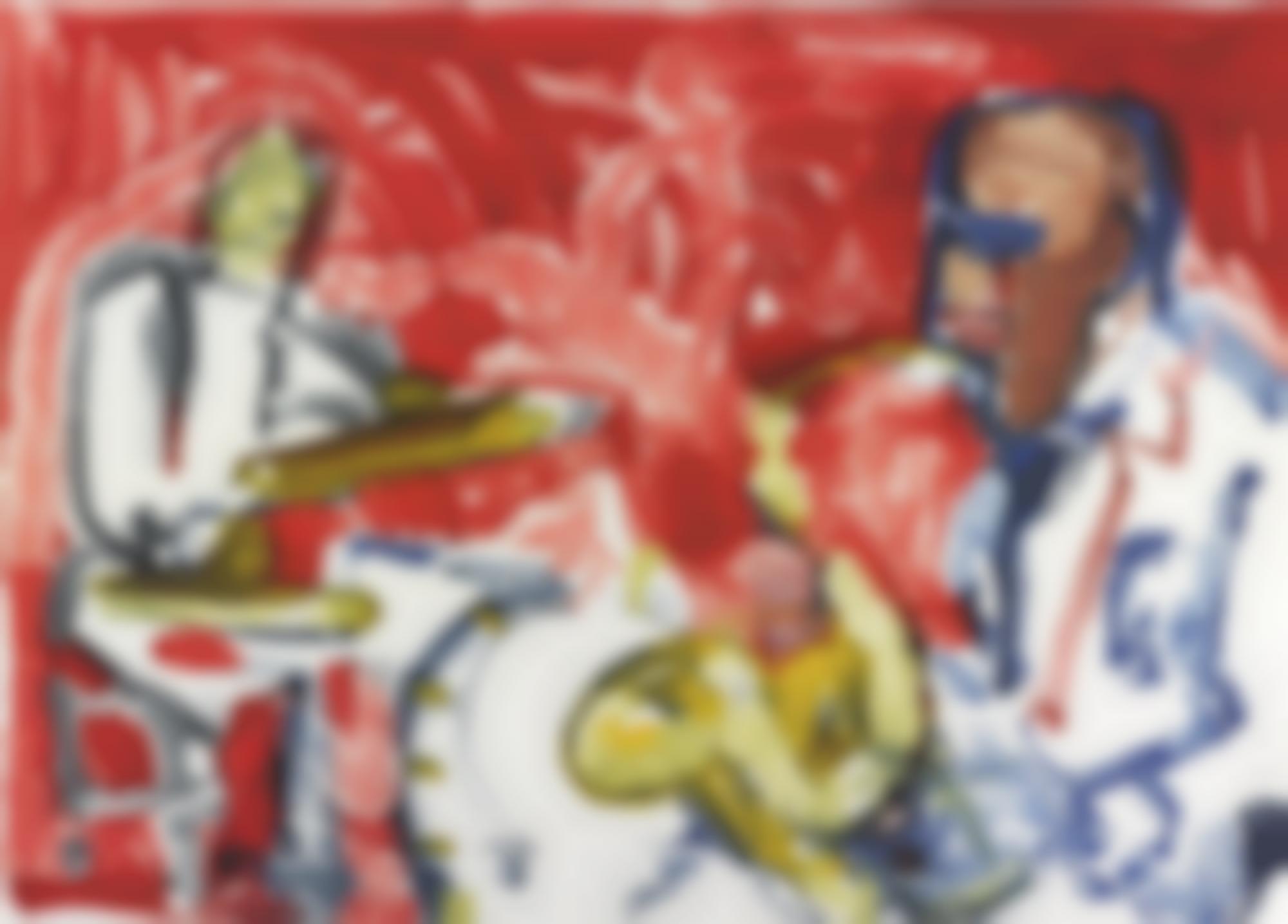 Romare Bearden-Jazz Suite-1979