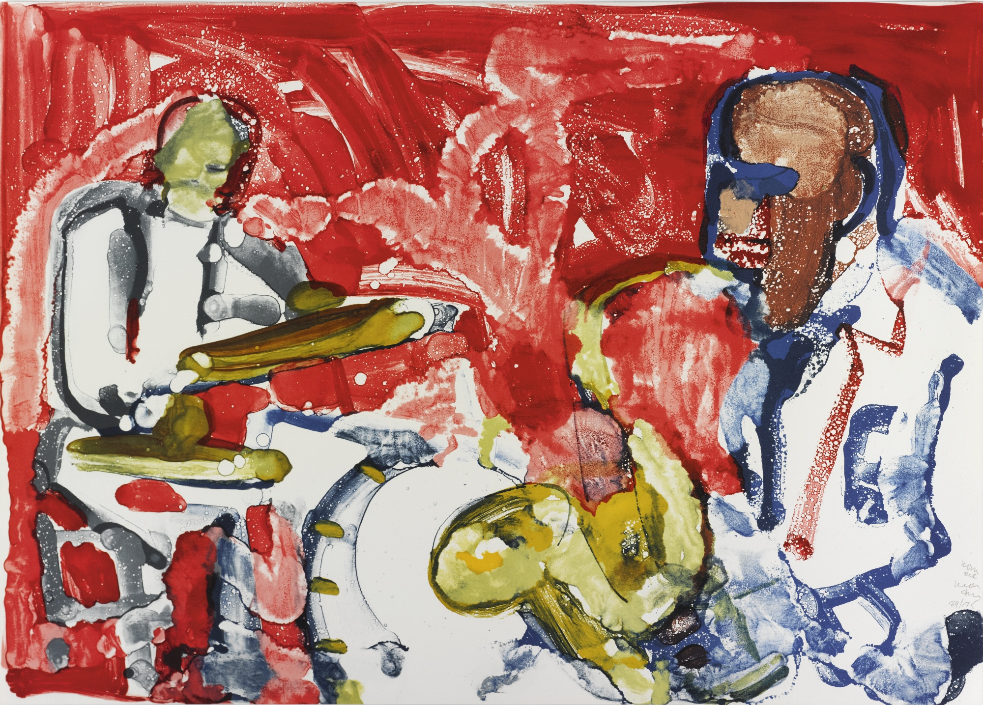Romare Bearden-Jazz Suite-1979