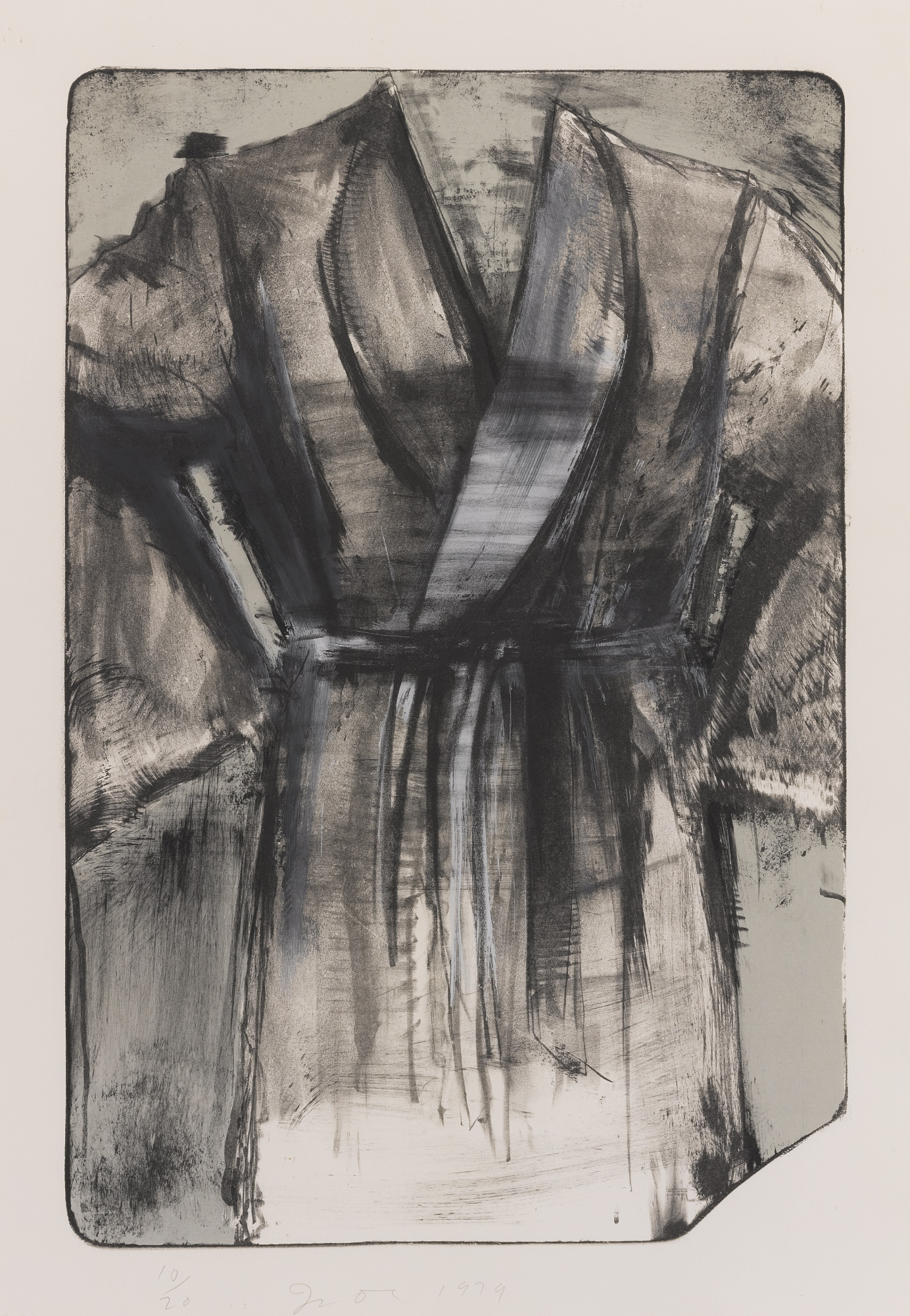 Jim Dine-A Robe Against The Desert Sky (D'Oench & Feinberg 57)-1979