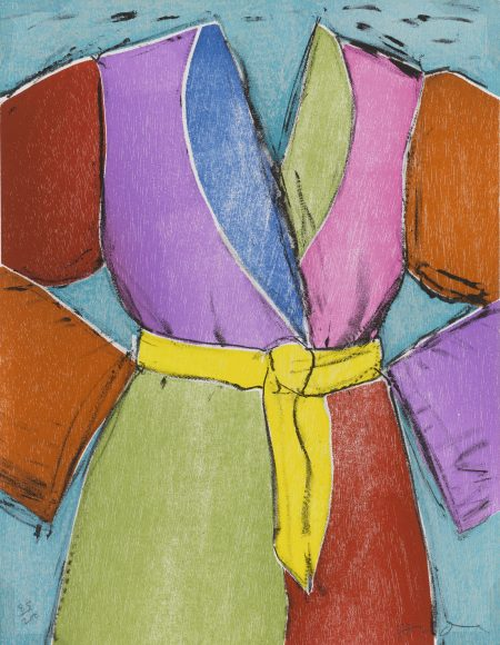 Jim Dine-The Yellow Belt And The Bather-2005