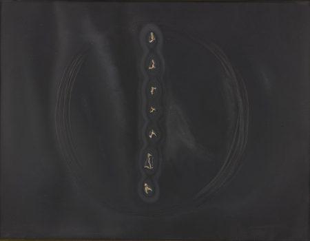Lucio Fontana-Concetto Spaziale (Ruhe/Rigo E-47)-1968