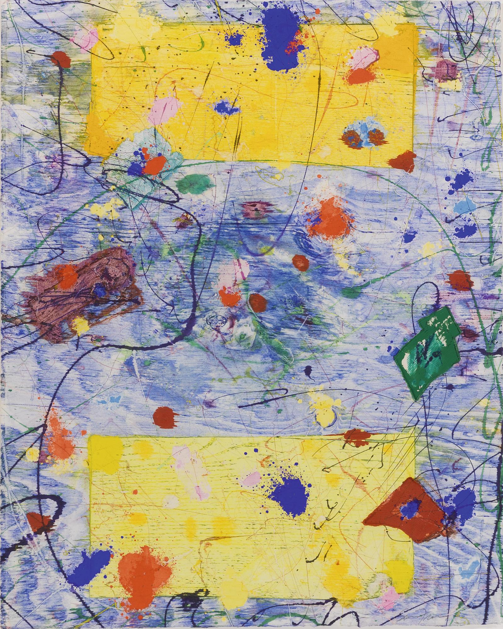 Sam Francis-Untitled [Exp-Sf-57-#7]-1982