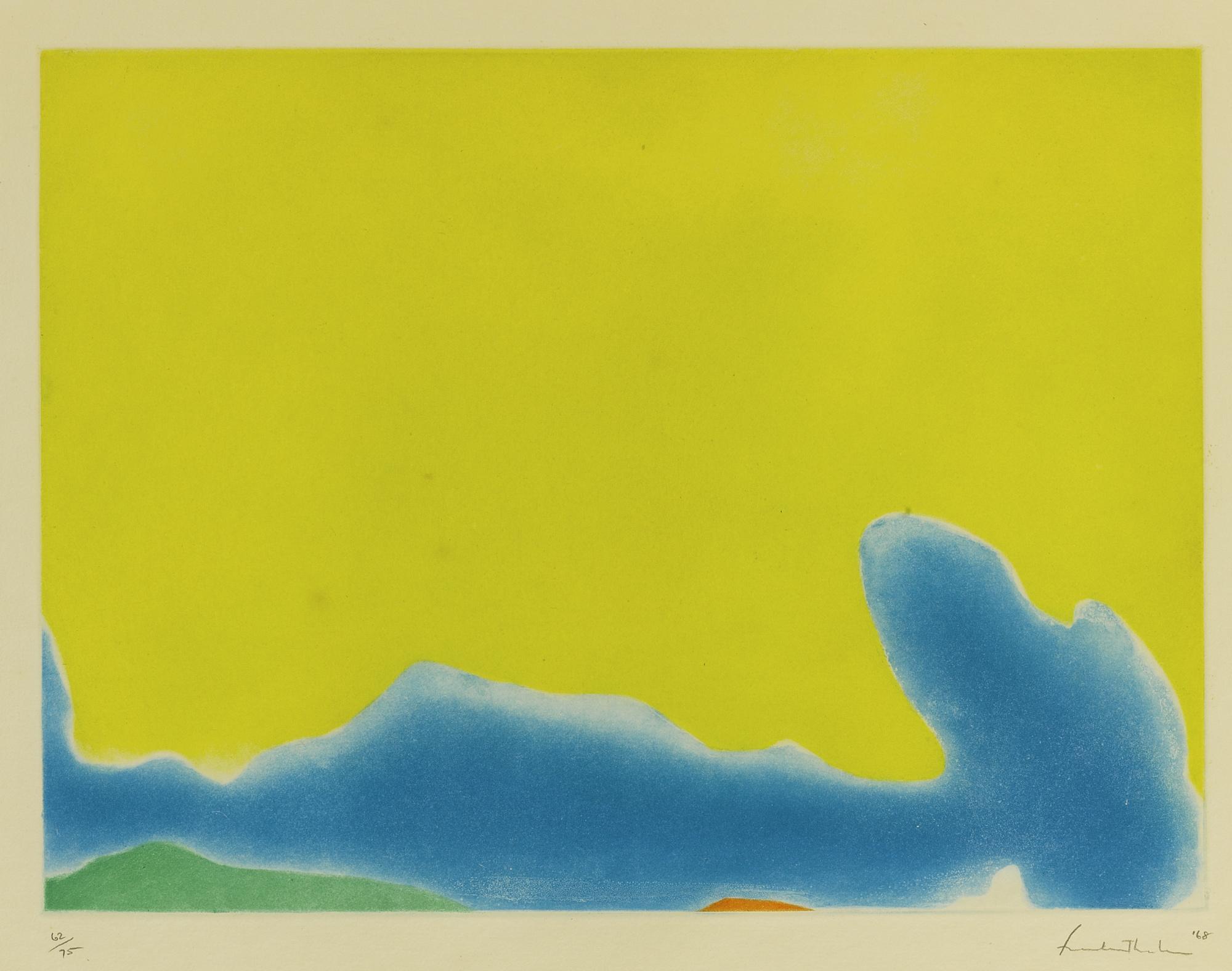 Helen Frankenthaler-Yellow Span (Harrison 13)-1968