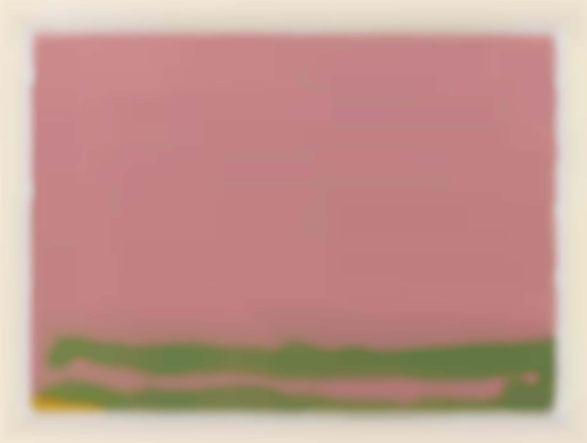 Helen Frankenthaler-Green Like Mauve (H. 30)-1970