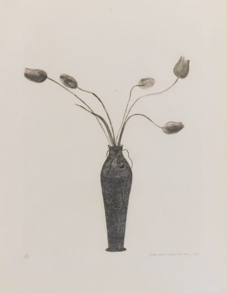 David Hockney-Tulips (Scottish Arts Council 158)-1973
