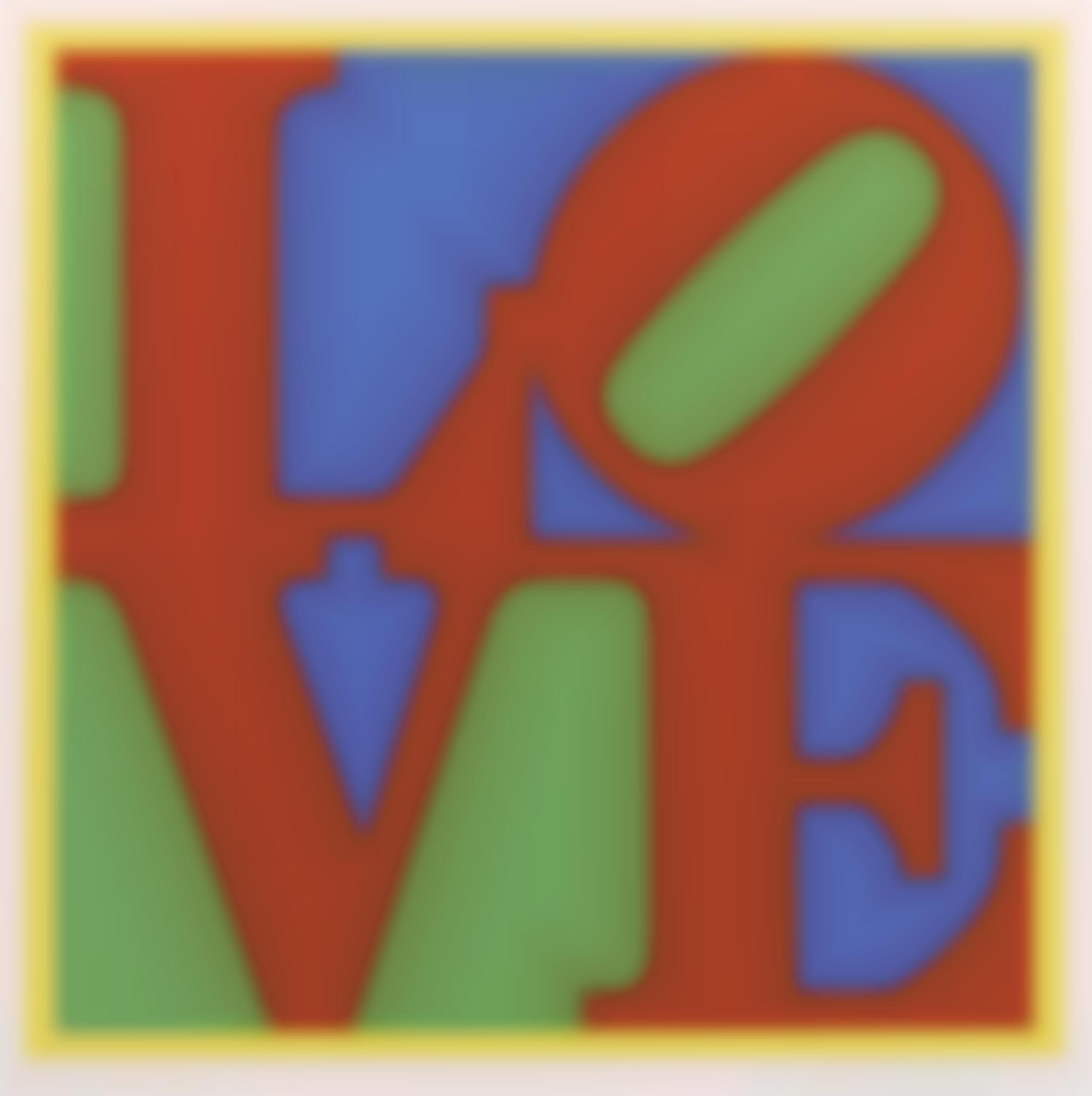 Robert Indiana-Heliotherapy Love-1995