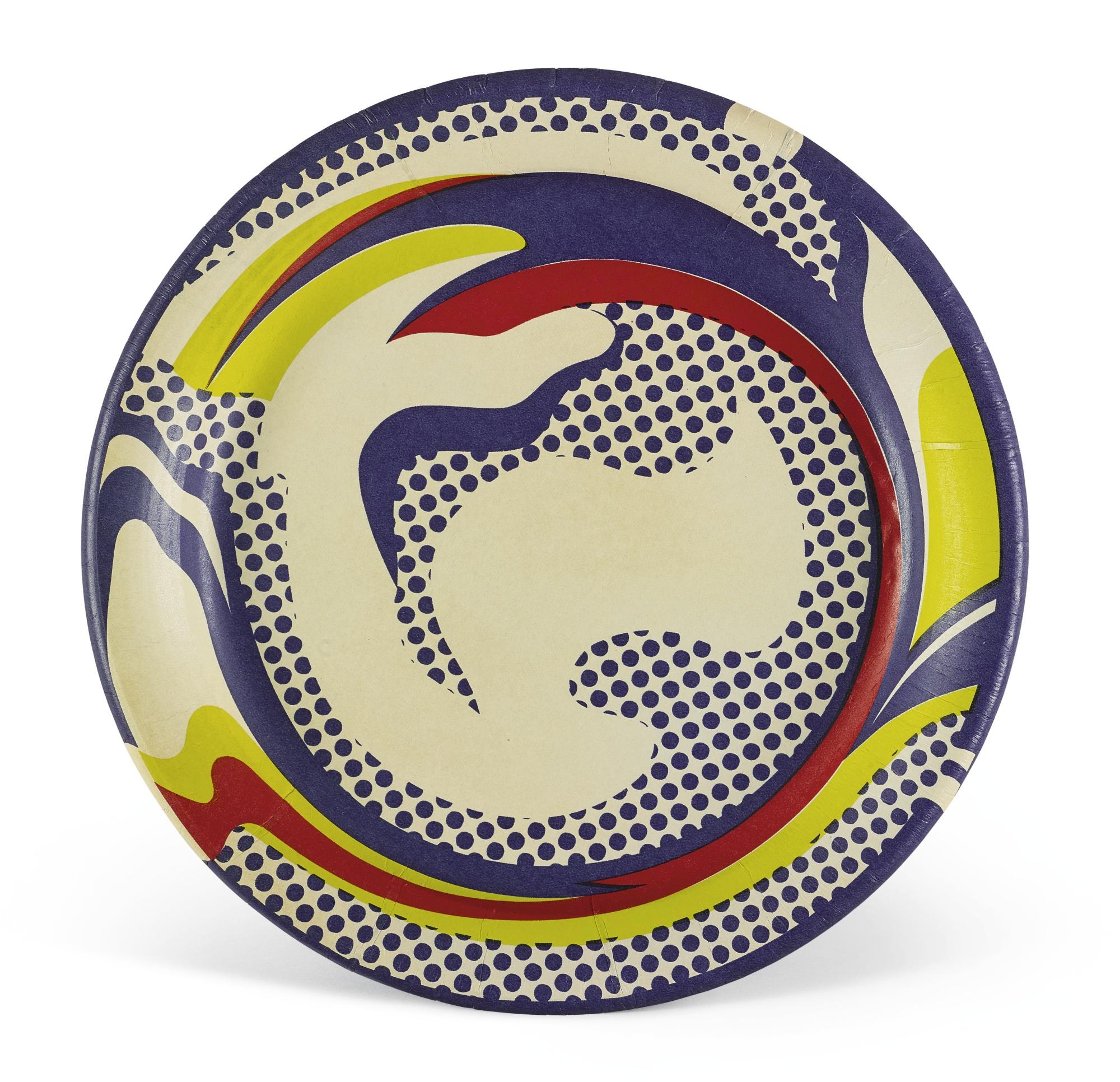 Roy Lichtenstein-Paper Plate (C. IIi.45)-1969