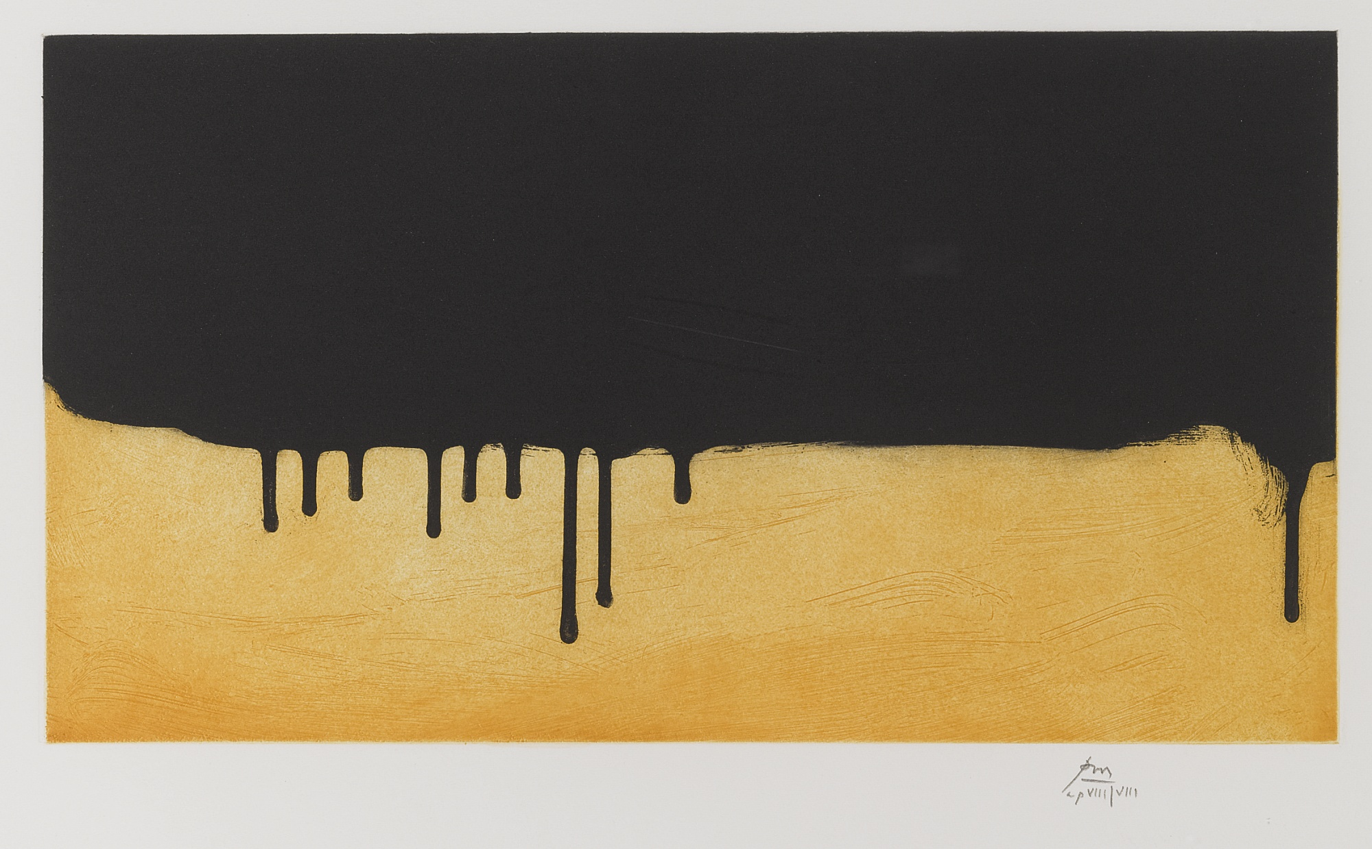 Robert Motherwell-Riverrun (W.A.C. 468)-1988