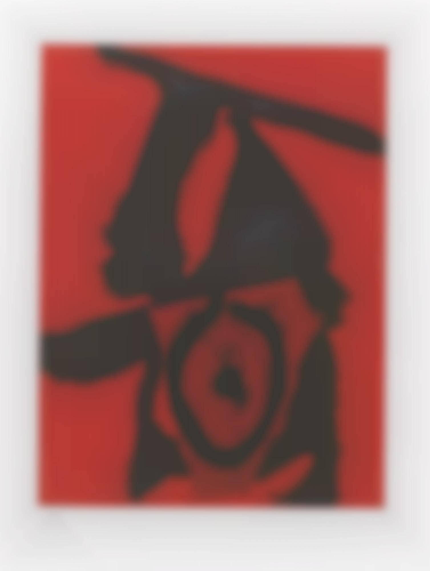 Robert Motherwell-The Red Queen (W.A.C. 476)-1989