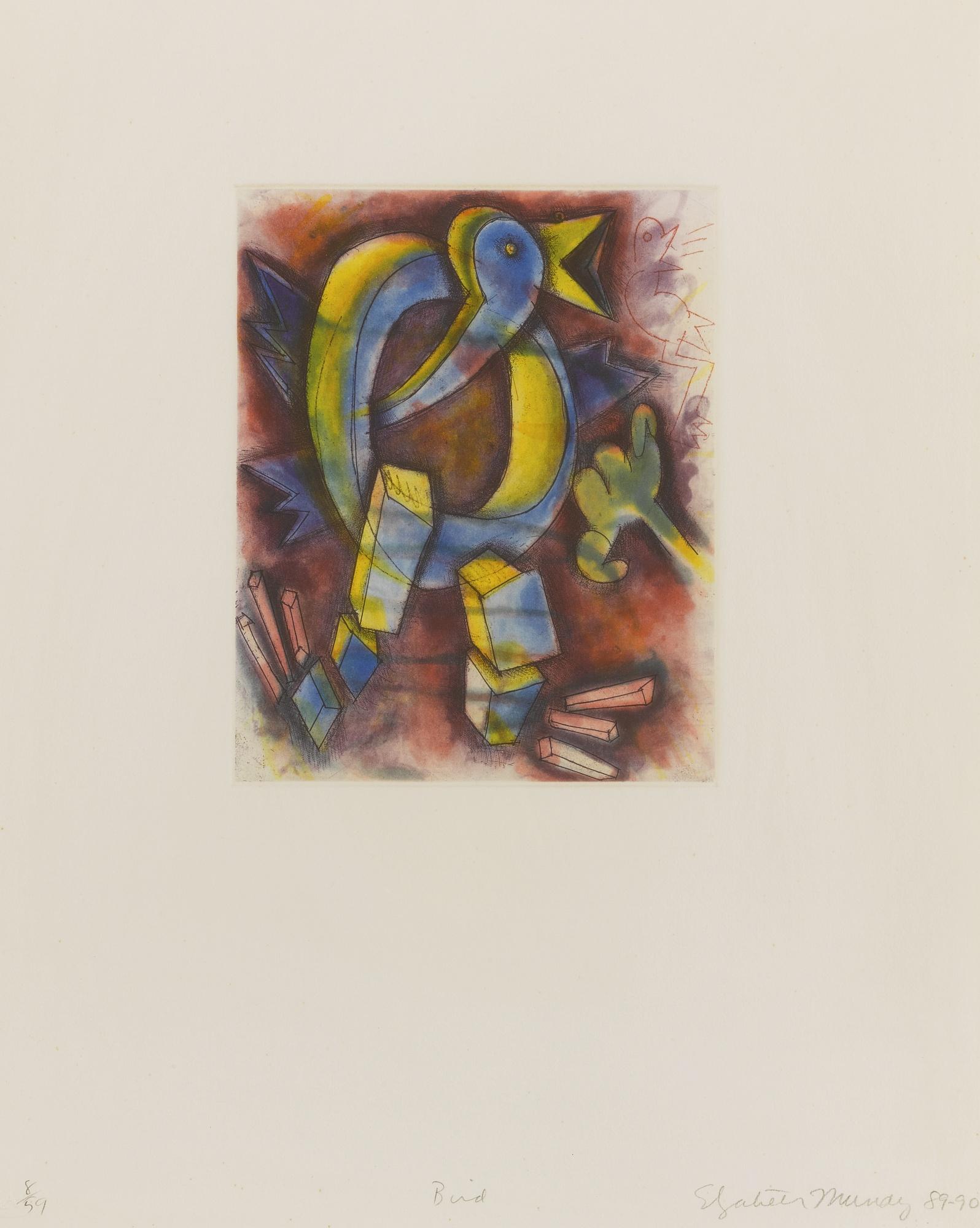 Elizabeth Murray-Quartet-1990