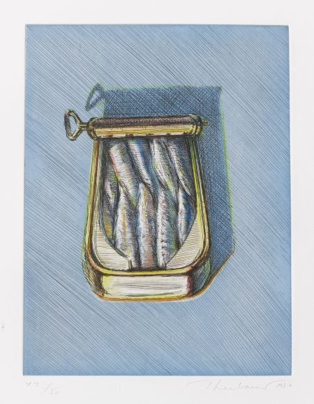 Wayne Thiebaud-Sardines-1982