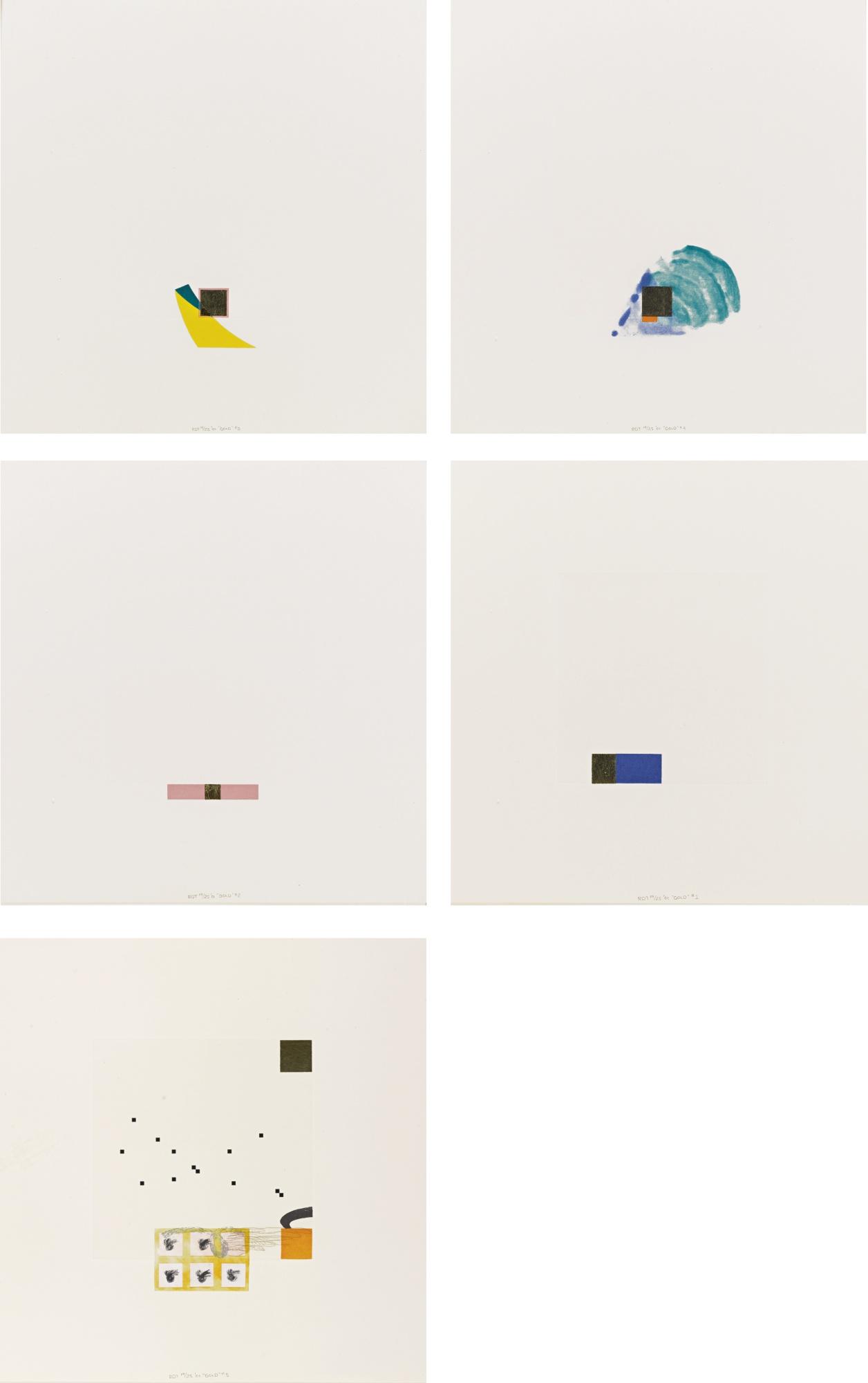 Richard Tuttle-Gold-