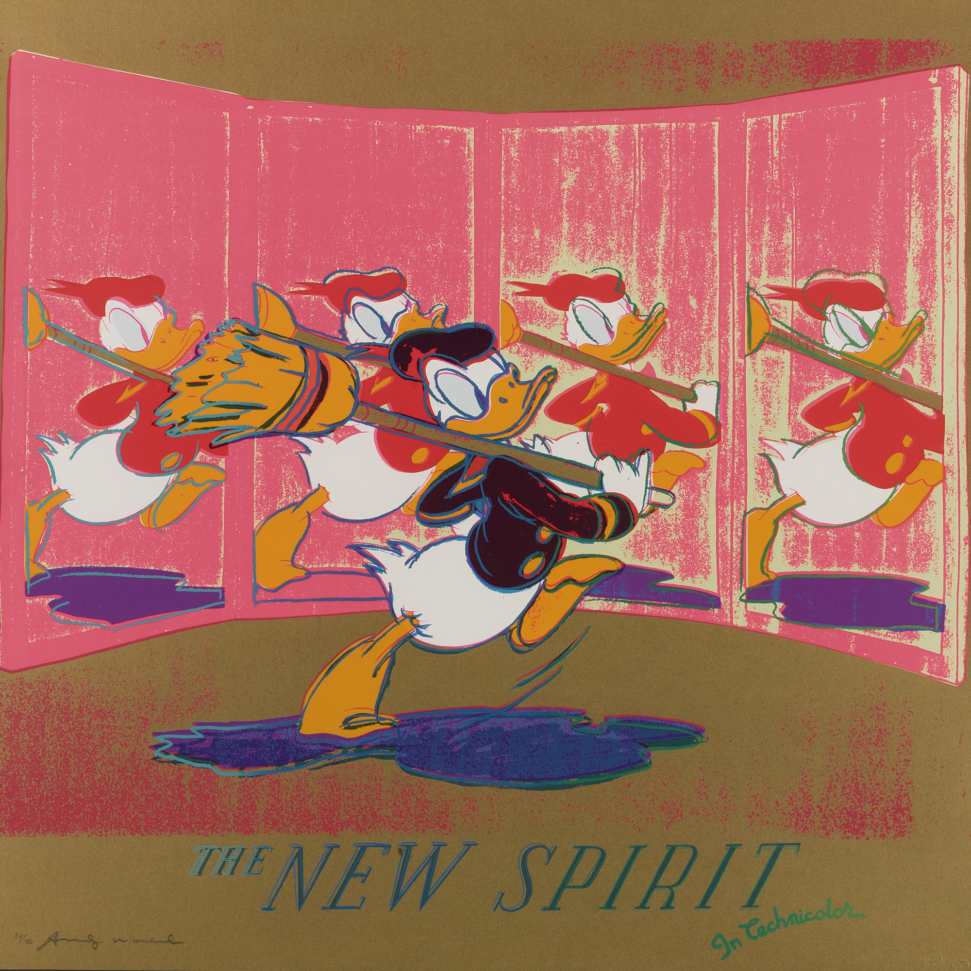 Andy Warhol-The New Spirit (Donald Duck) (F. & S. II.357)-1985