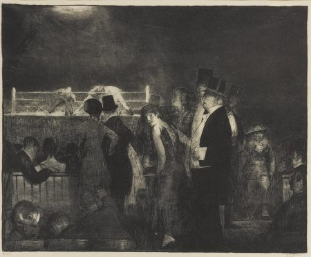 George Bellows-Preliminaries (Mason 24)-1916